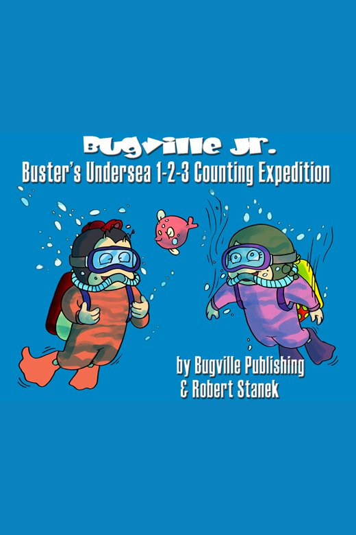 Buster's undersea 1-2-3 counting expedition cover image