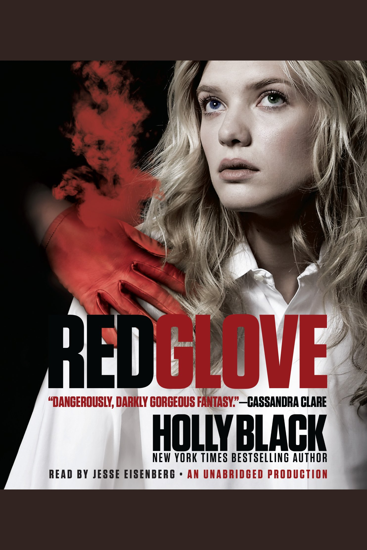Red glove cover image