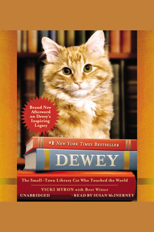 Dewey the small-town library cat who touched the world cover image