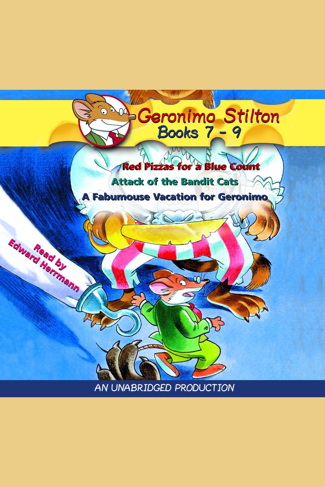 Geronimo Stilton: Books 7-9 cover image