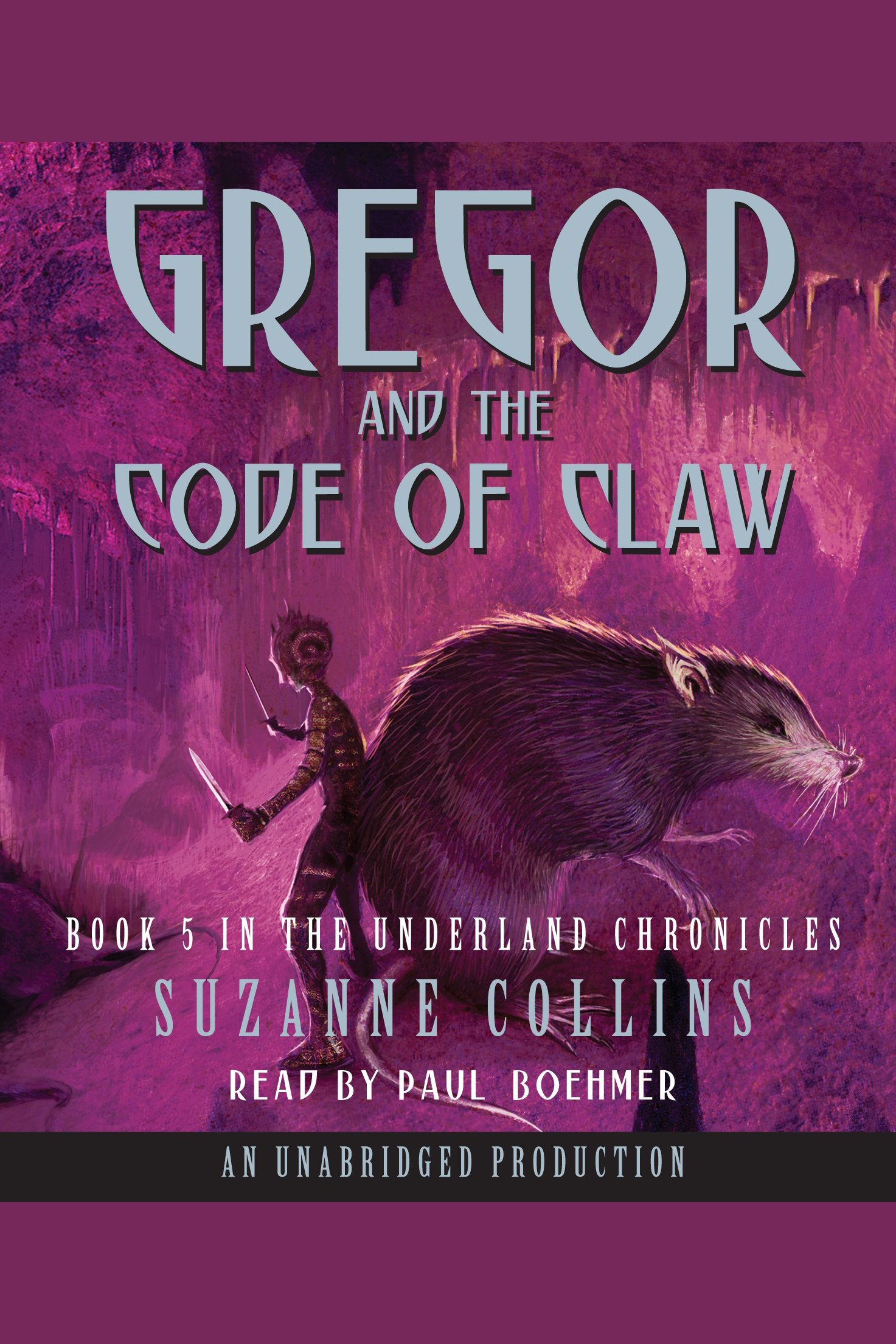 Gregor and the Code of Claw cover image