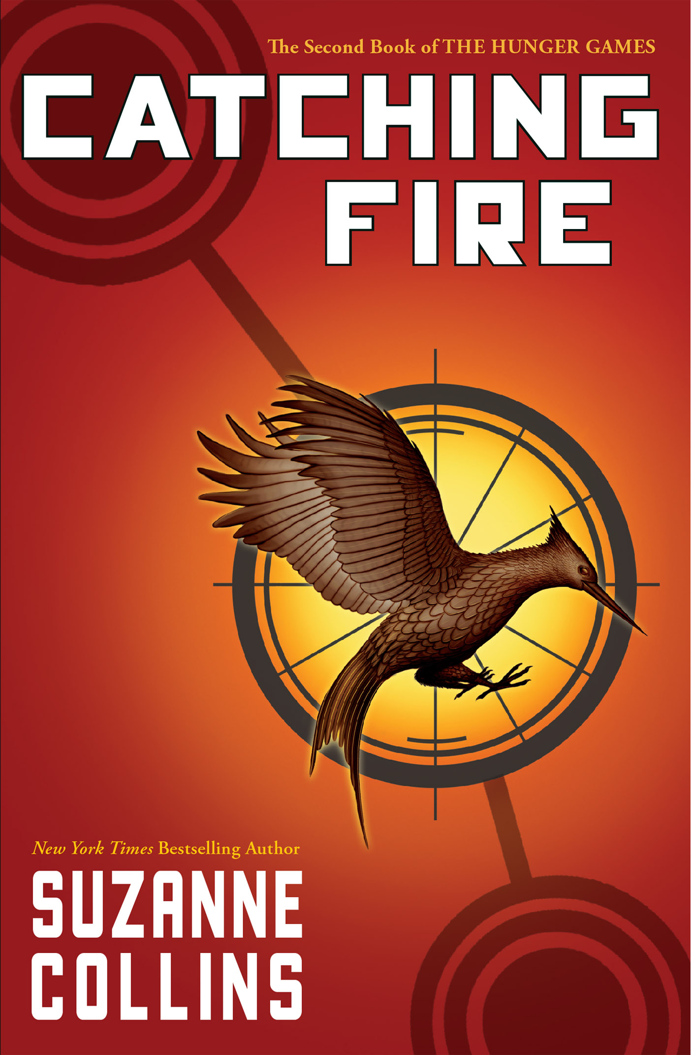 Cover Image of Catching Fire (Hunger Games, Book Two)