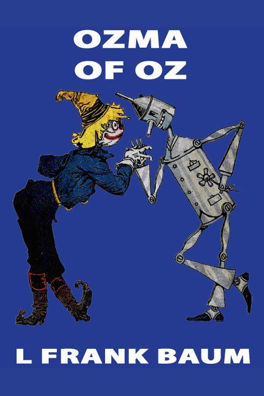 Ozma of Oz cover image
