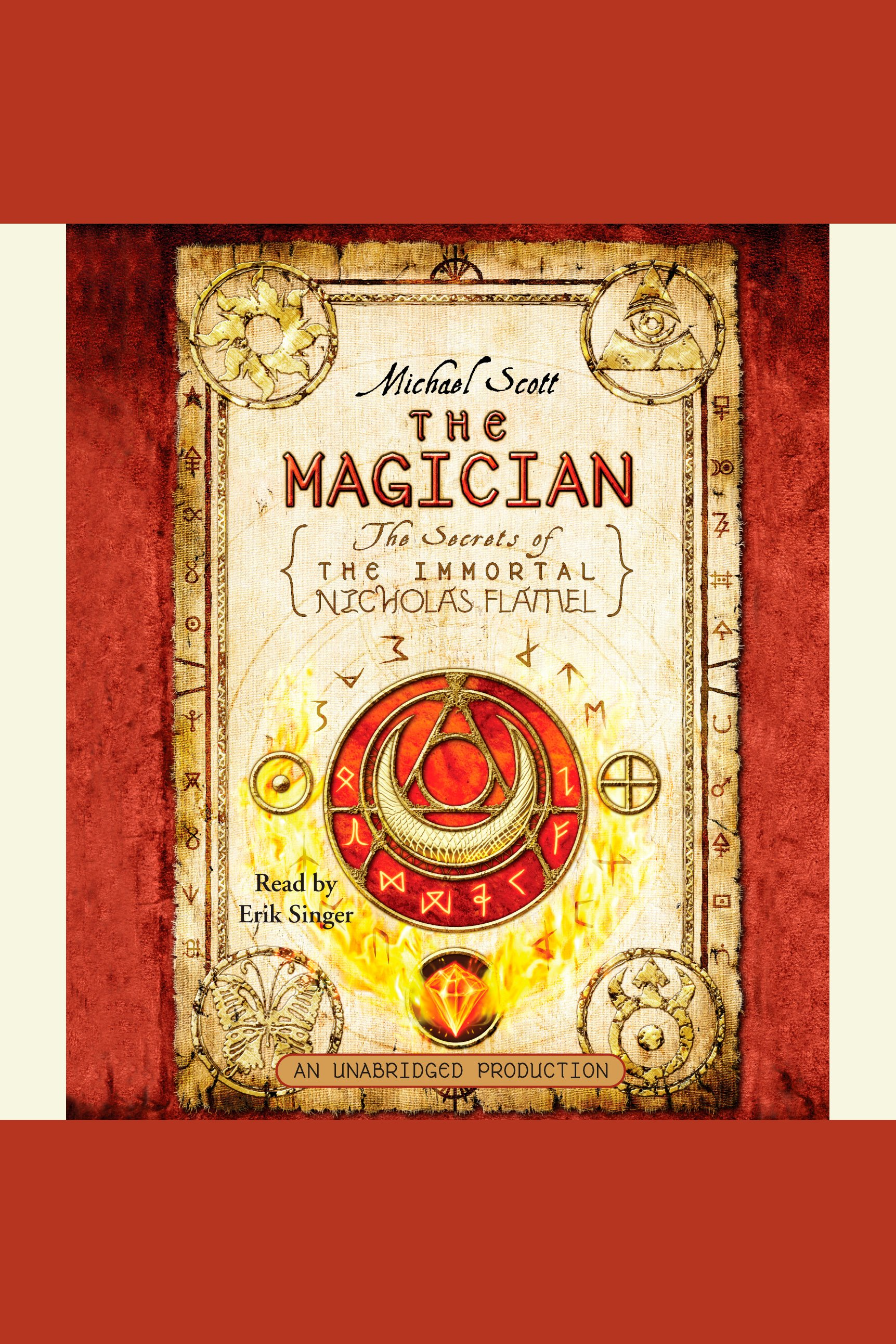 The magician cover image