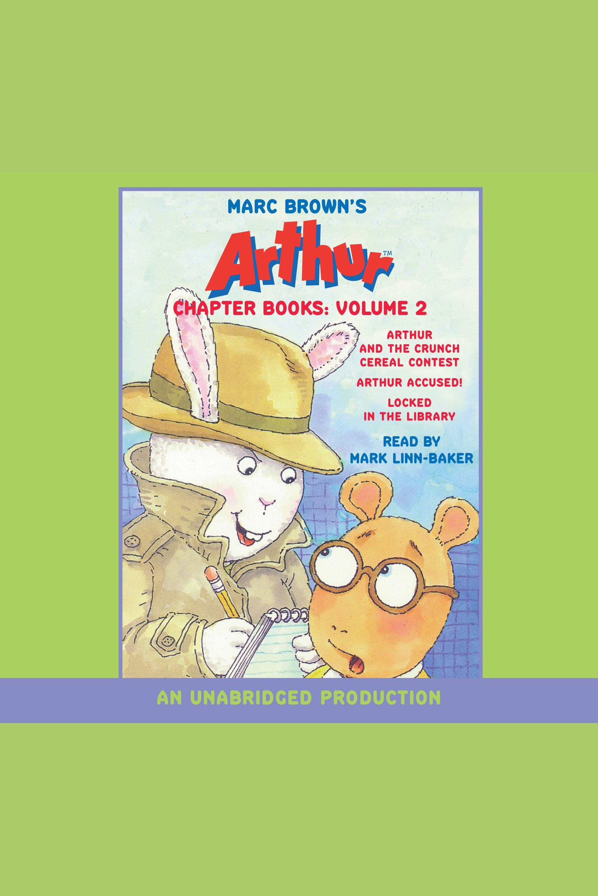 Marc Brown's Arthur chapter books: Volume 2 cover image