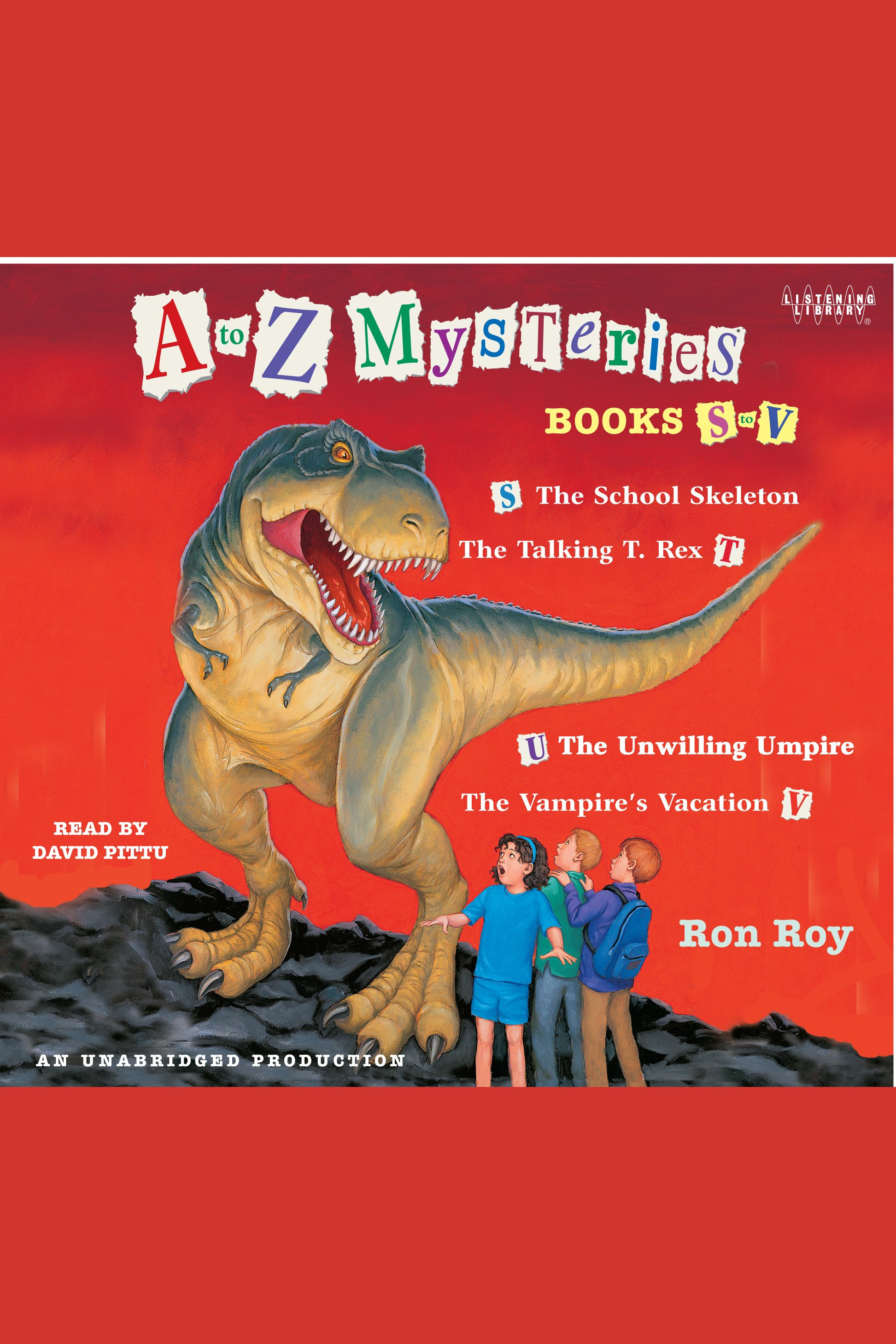 A to Z Mysteries: Books S-V cover image