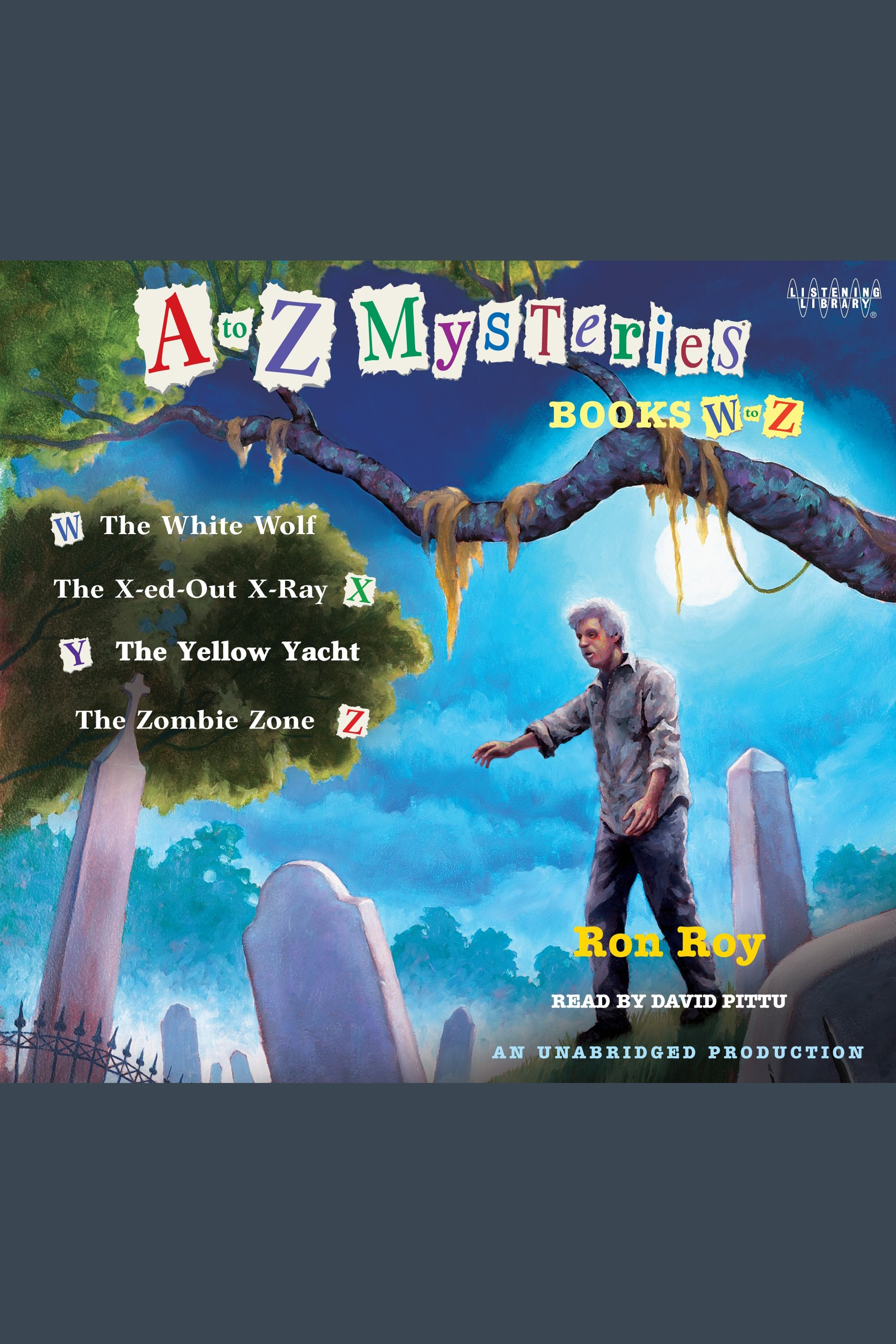 A to Z Mysteries: Books W-Z cover image