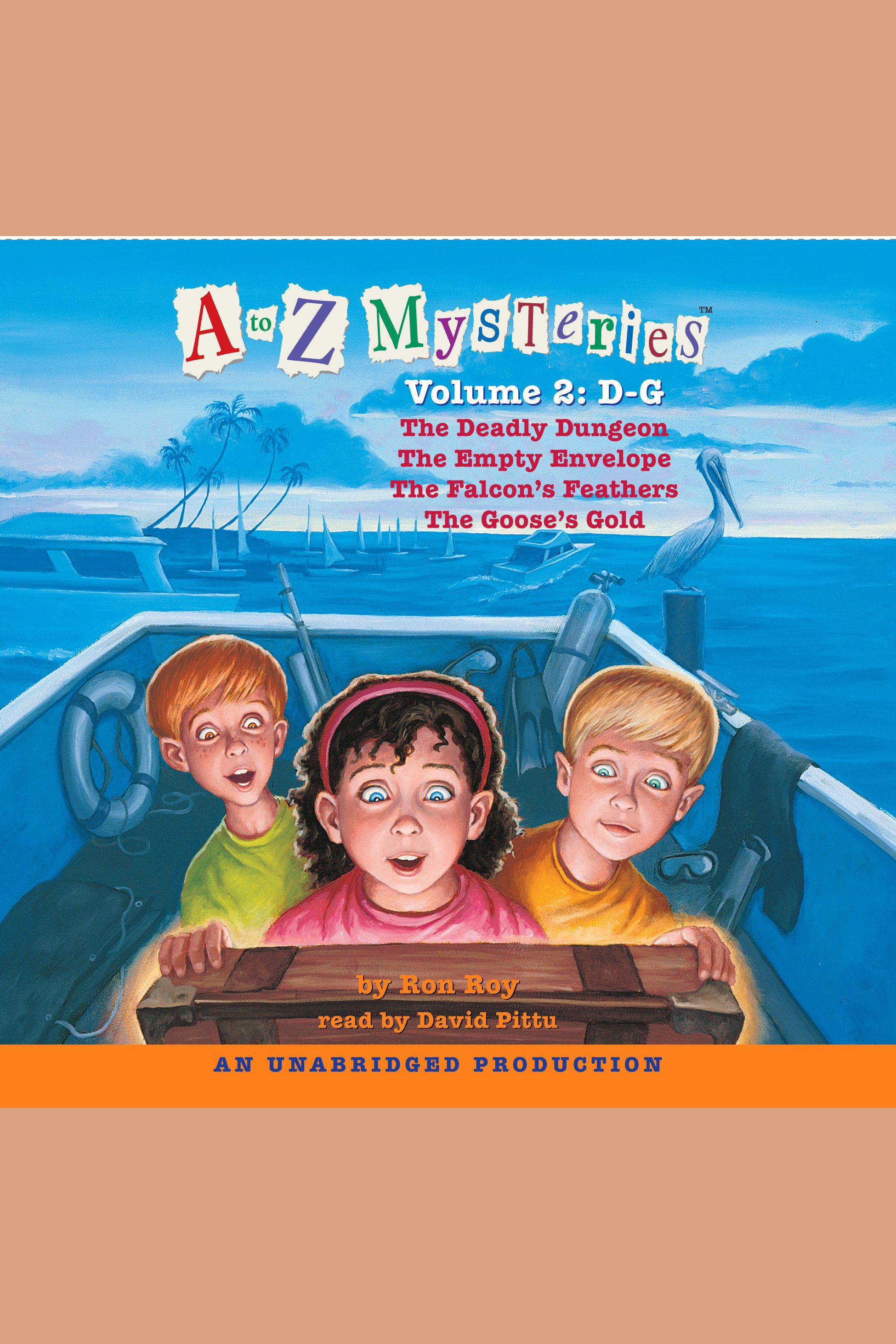 A to Z Mysteries cover image