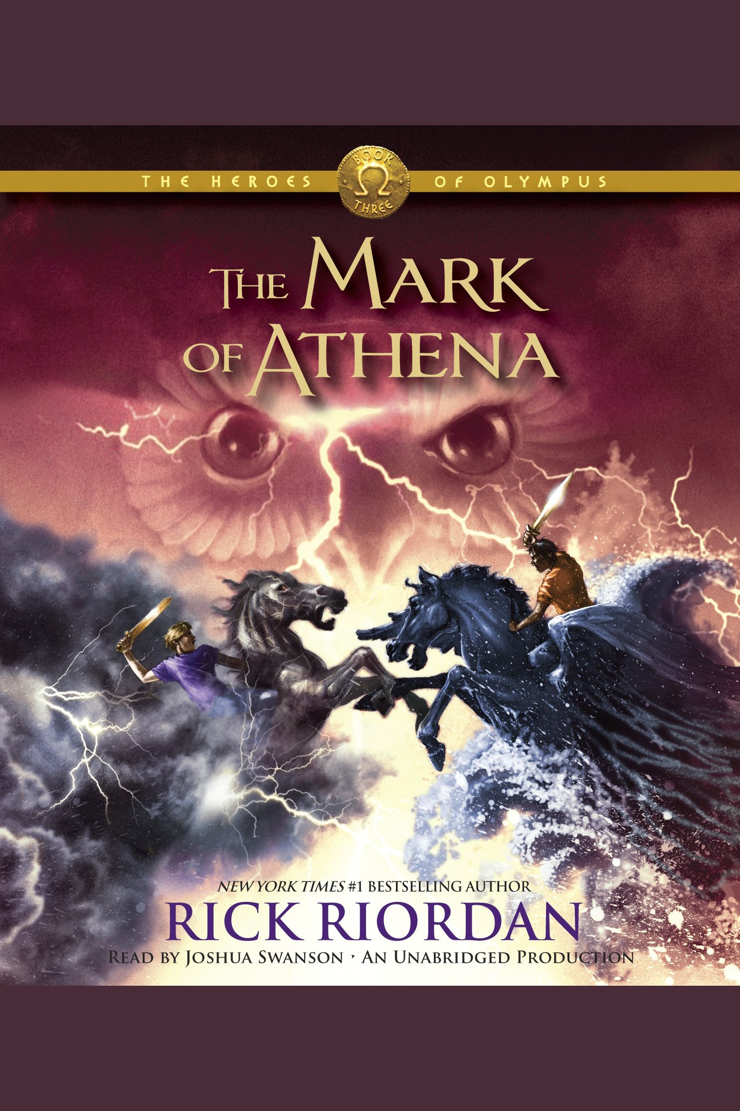 The mark of Athena cover image