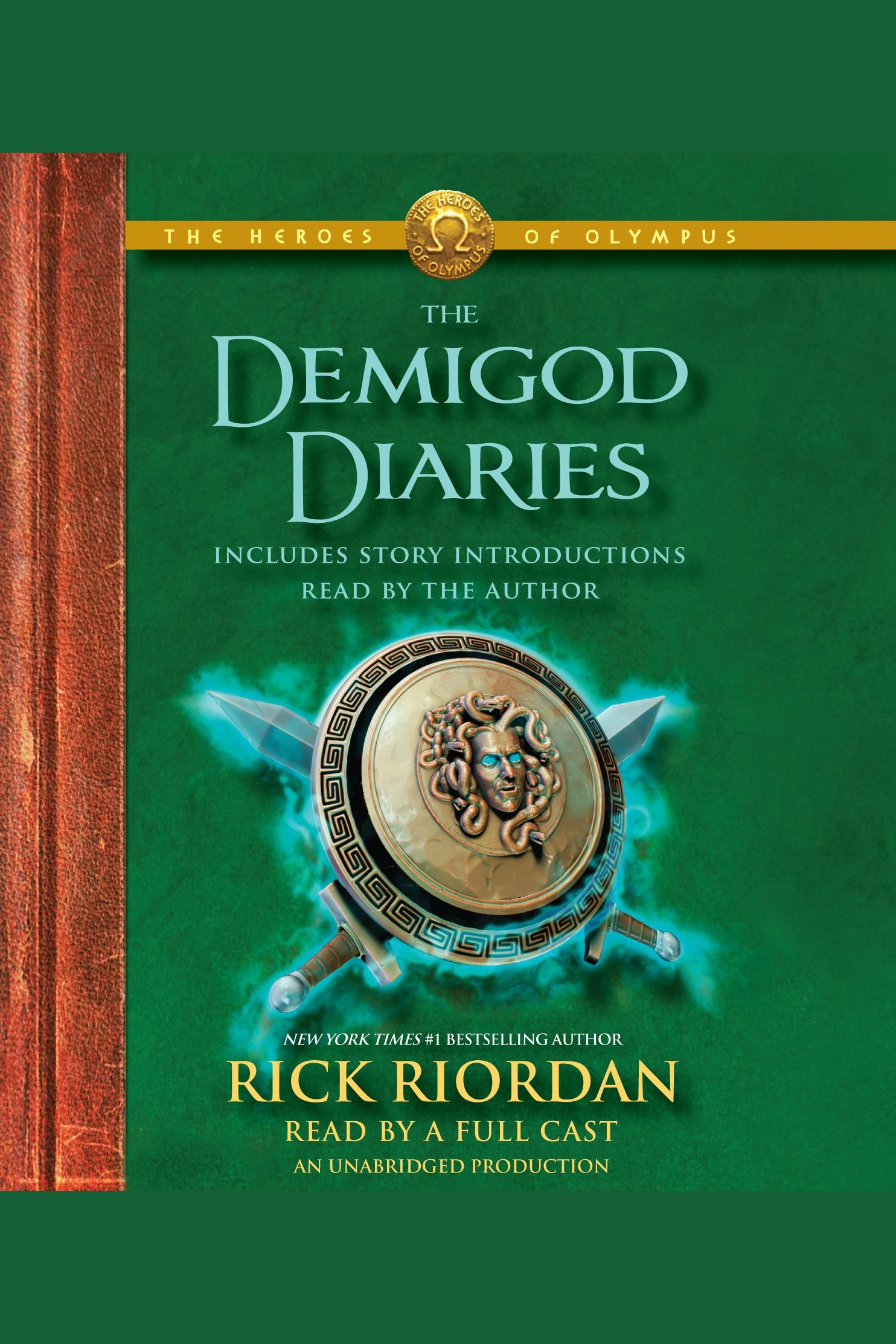 The demigod diaries cover image