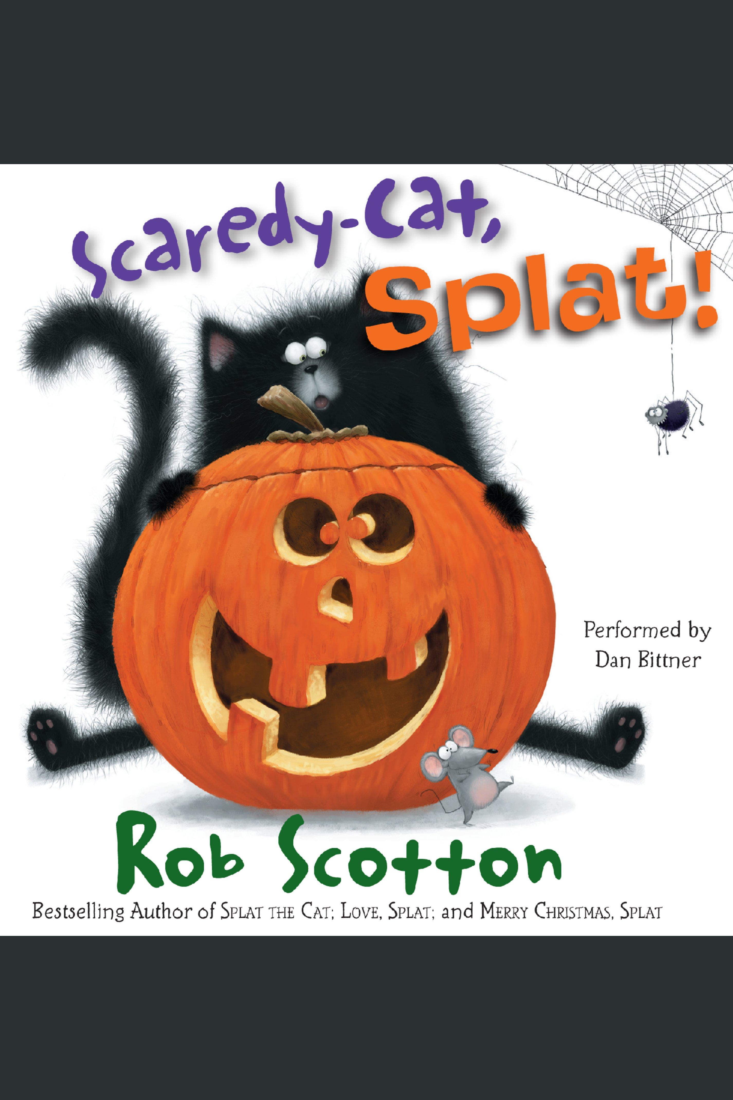 Scaredy-cat, Splat! cover image