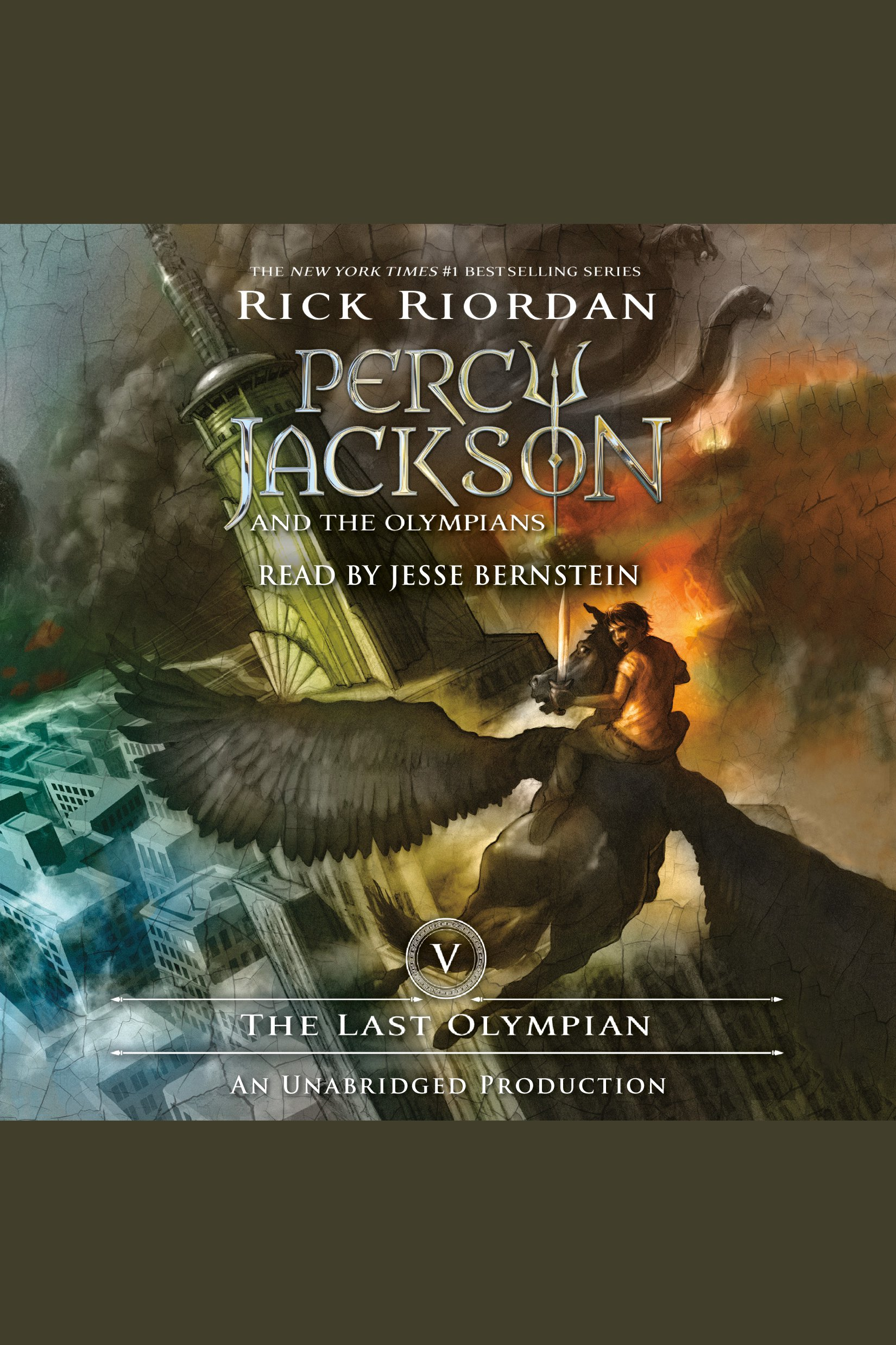 The Last Olympian Percy Jackson and the Olympians: Book 5