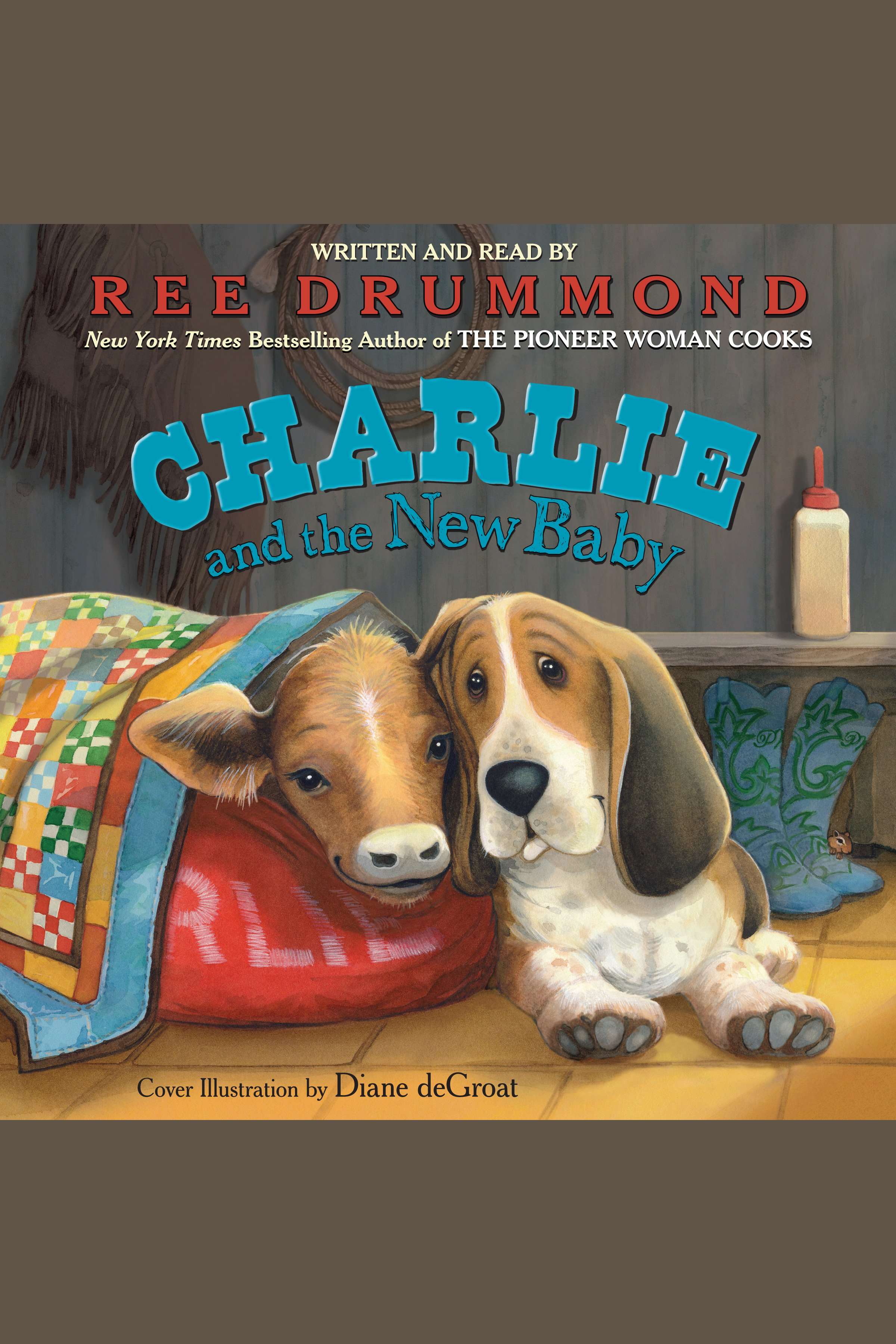 Charlie and the new baby cover image