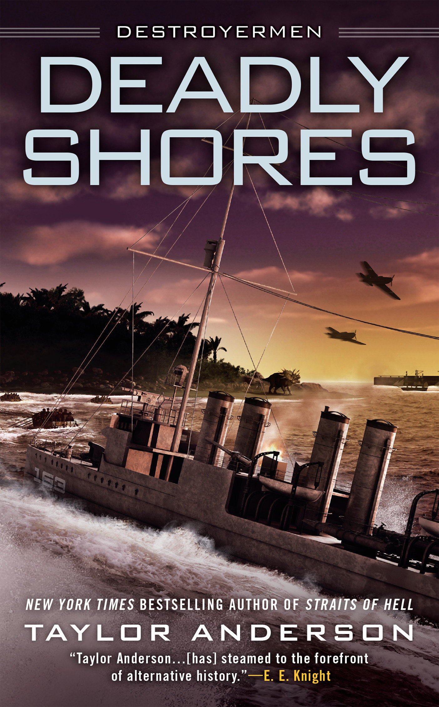 Deadly shores cover image