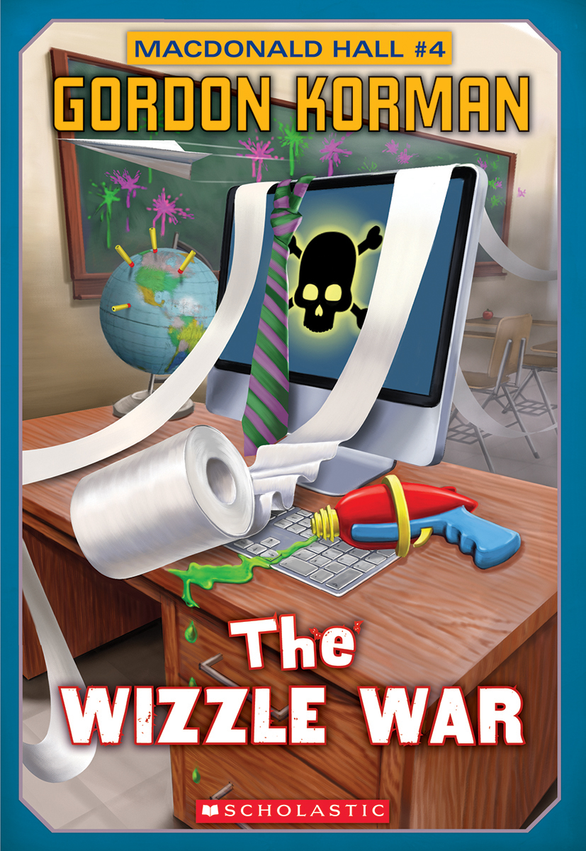 Cover Image of Macdonald Hall #4: The Wizzle War