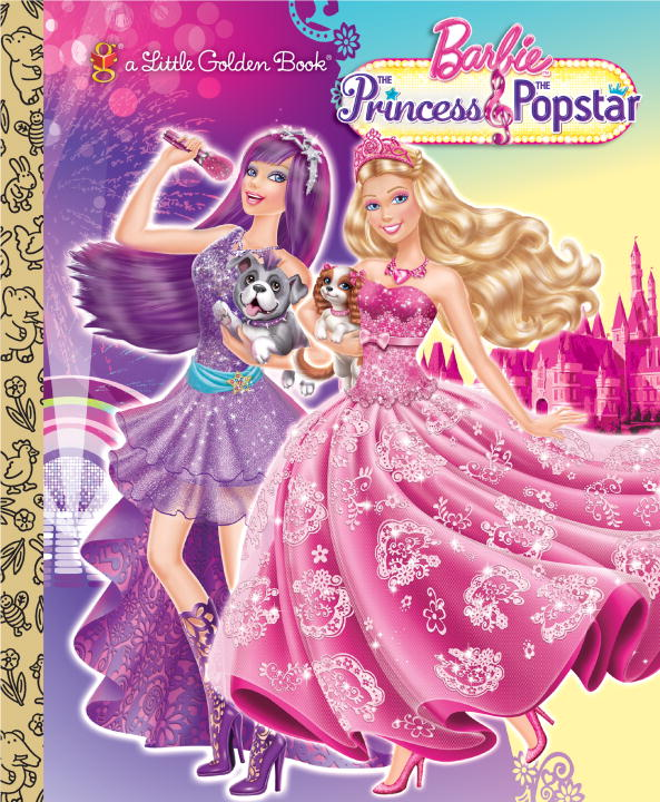 Cover image for Princess and the Popstar Little Golden Book (Barbie) [electronic resource] :
