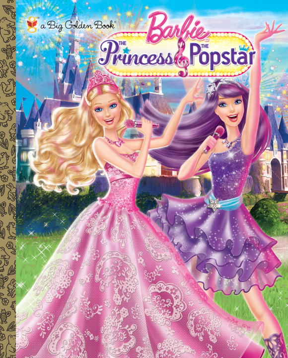 Cover image for Princess and the Popstar Big Golden Book (Barbie) [electronic resource] :