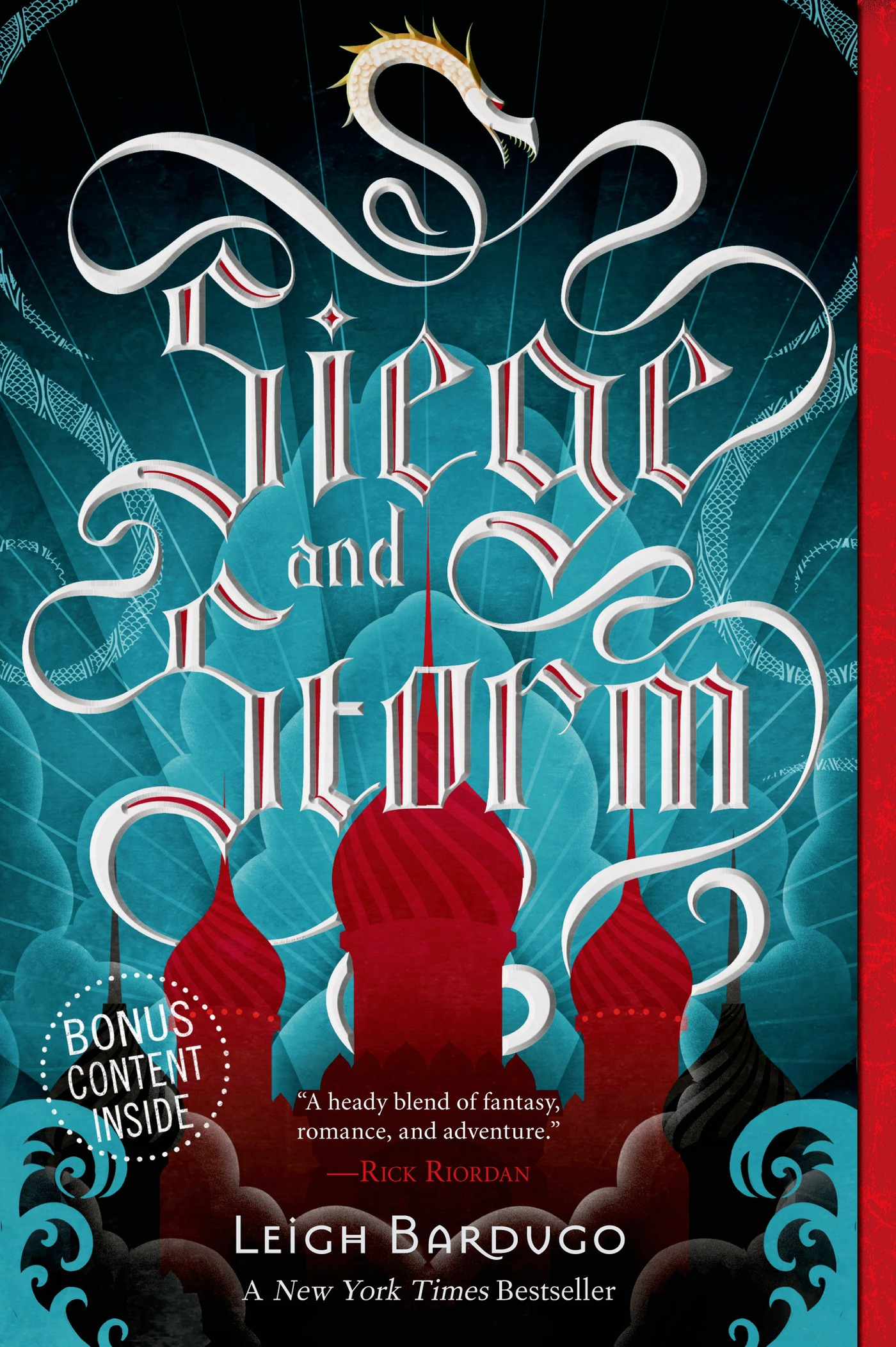 Cover Image of Siege and Storm