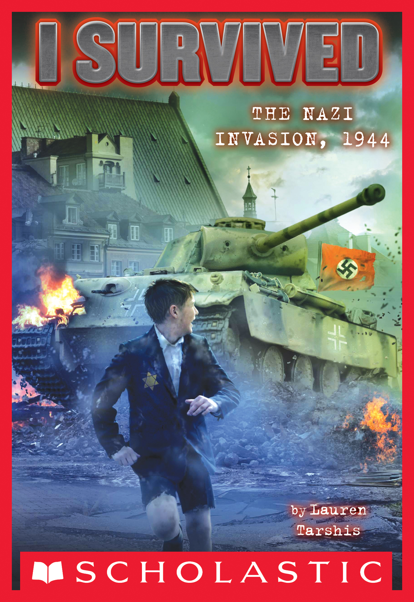 Cover Image of I Survived the Nazi Invasion, 1944 (I Survived #9)