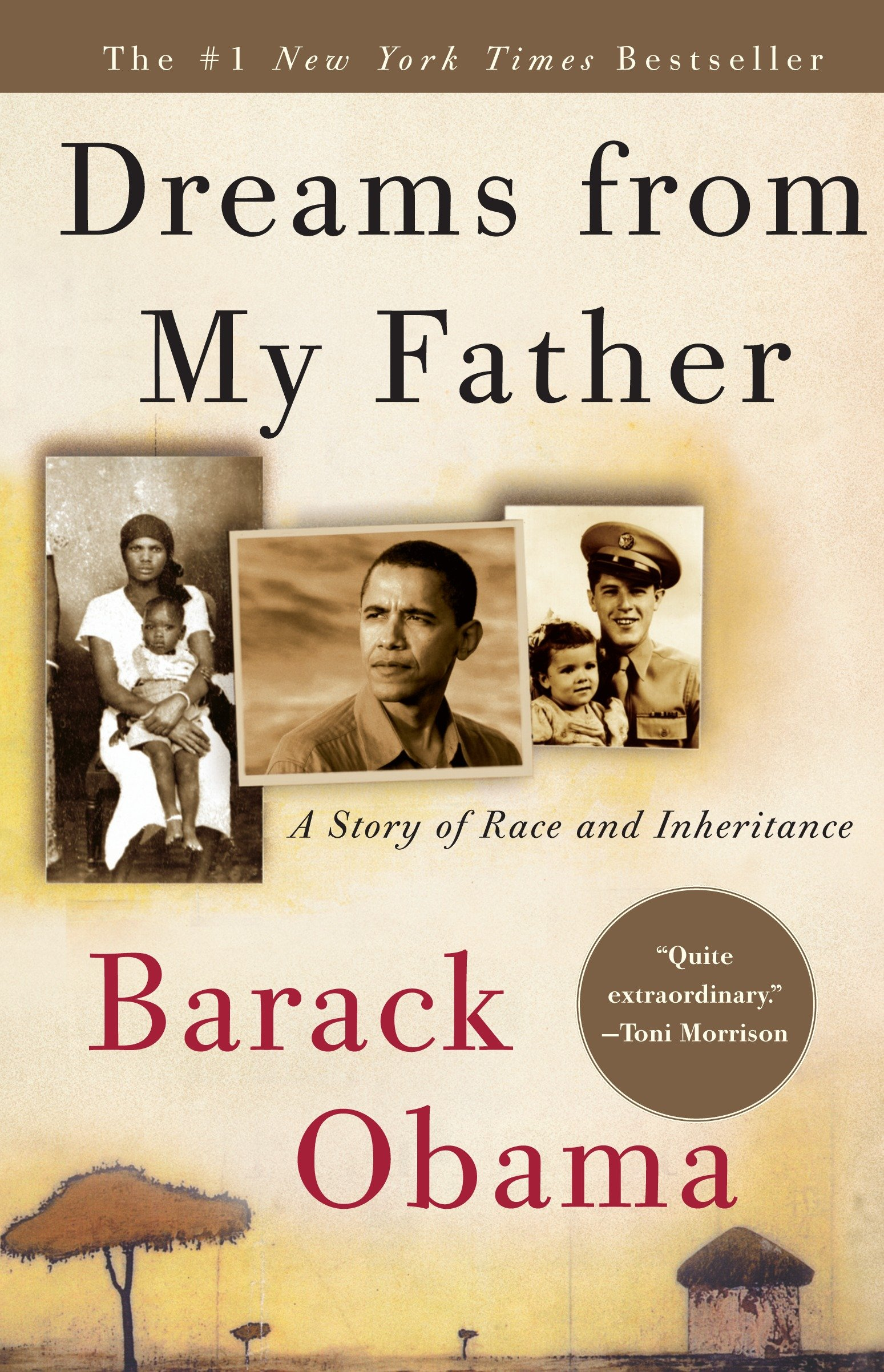 Dreams from my father a story of race and inheritance cover image