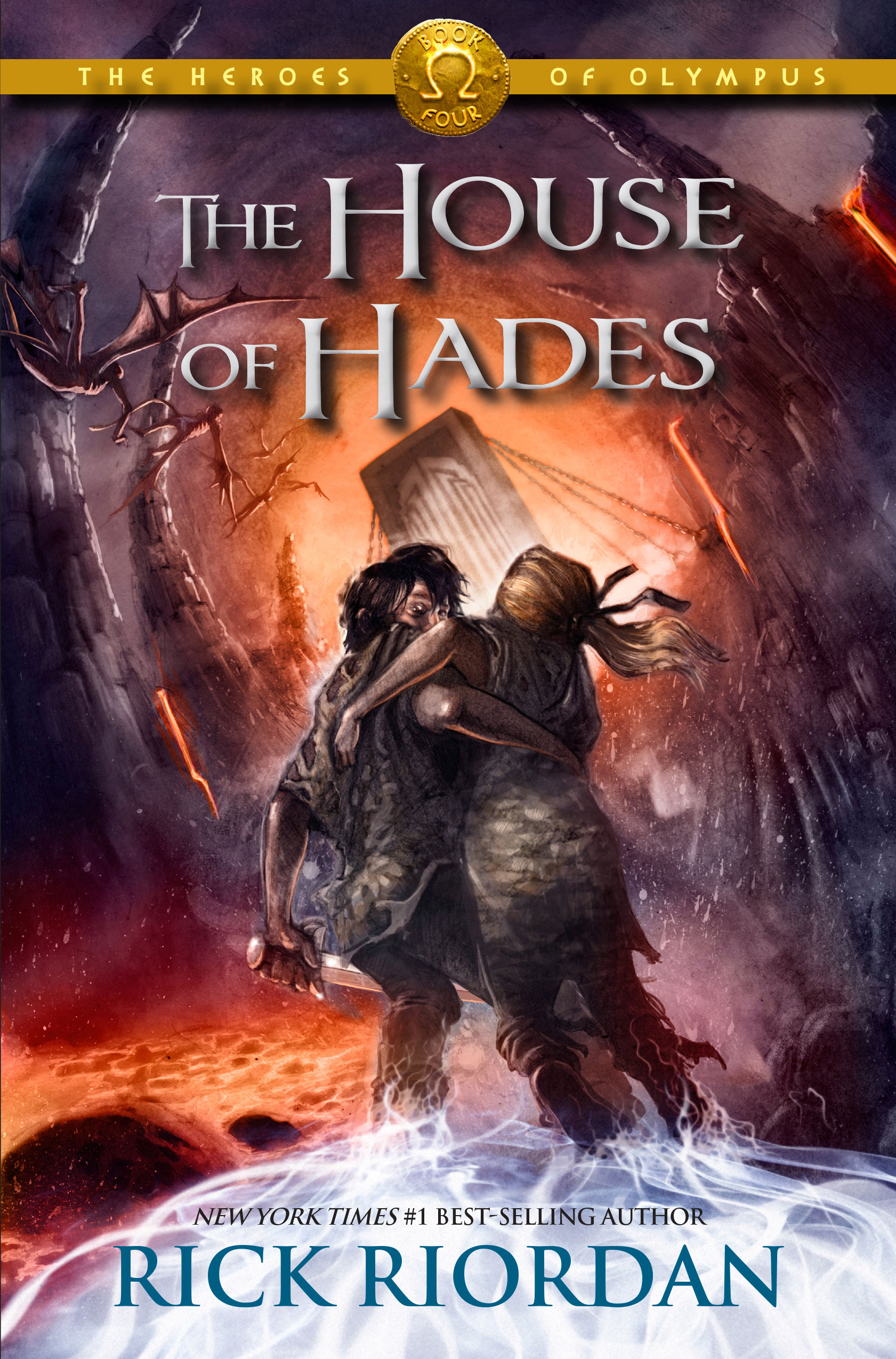 Cover Image of The Heroes of Olympus, Book Four: The House of Hades