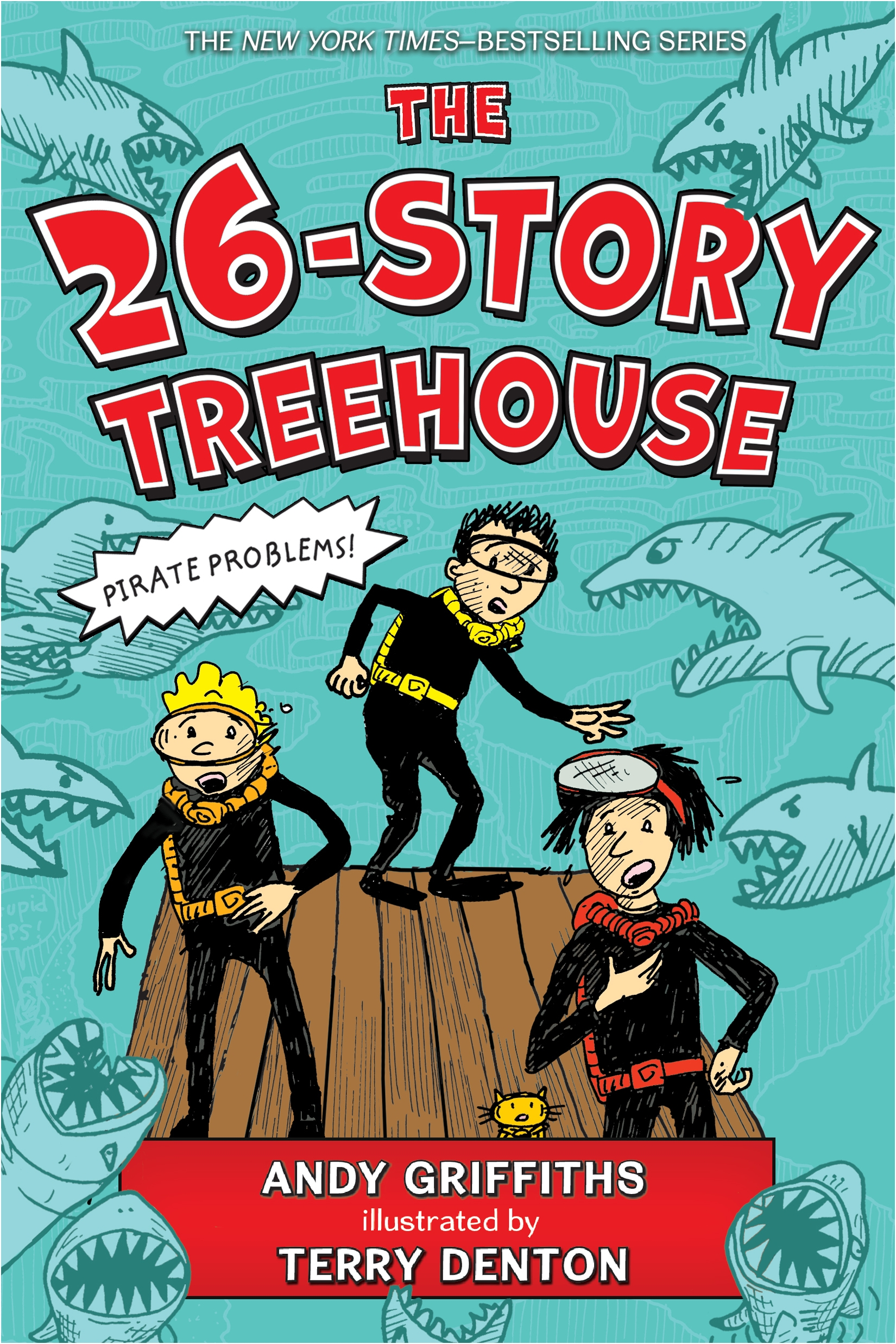 The 26-Story Treehouse Pirate Problems!
