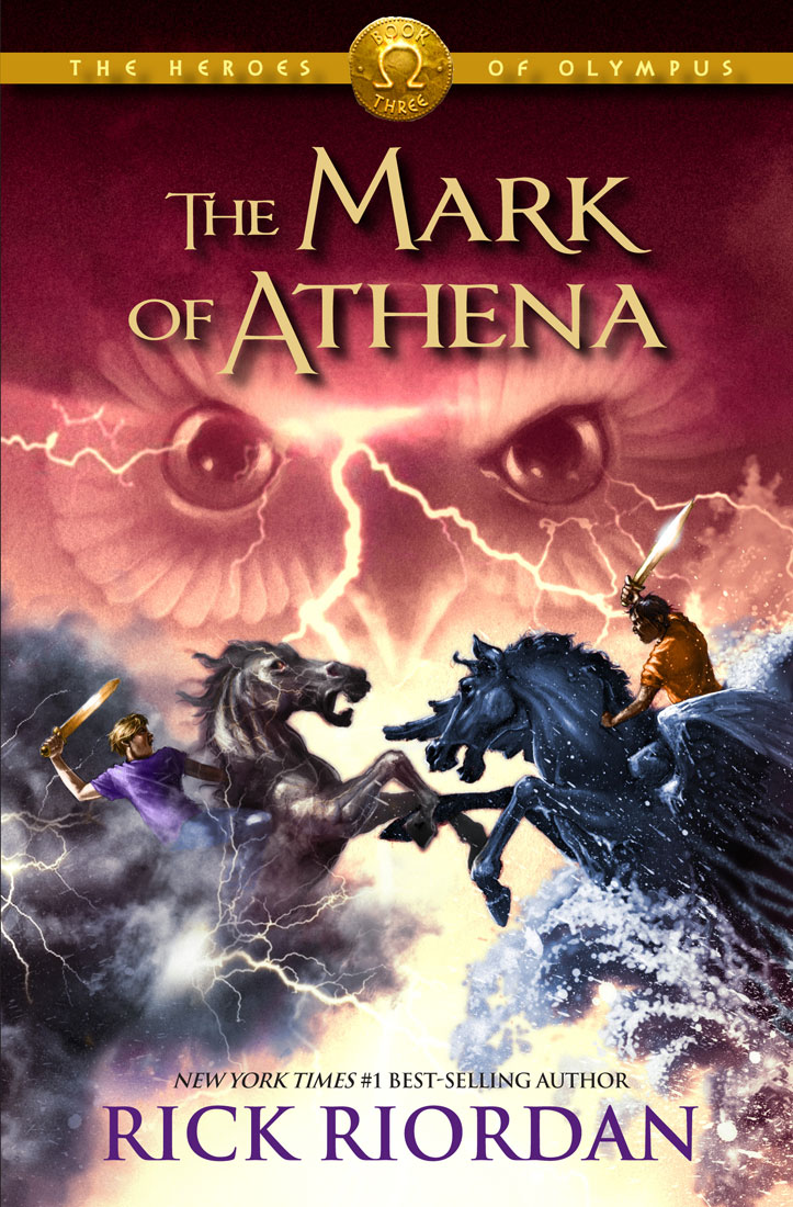 Cover Image of The Mark of Athena (The Heroes of Olympus, Book Three)