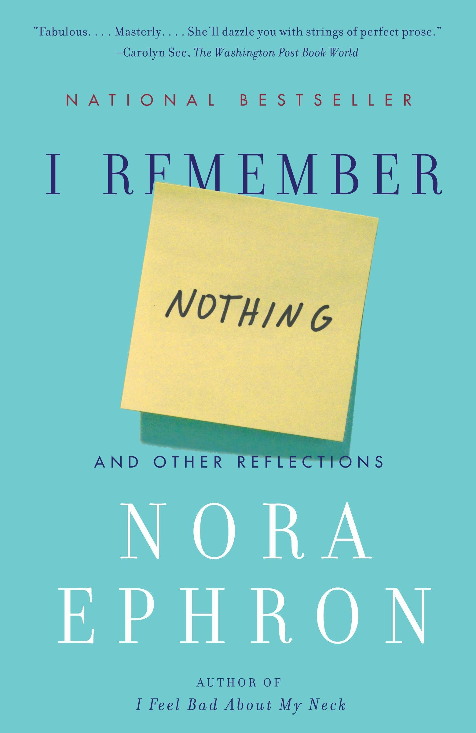I remember nothing cover image