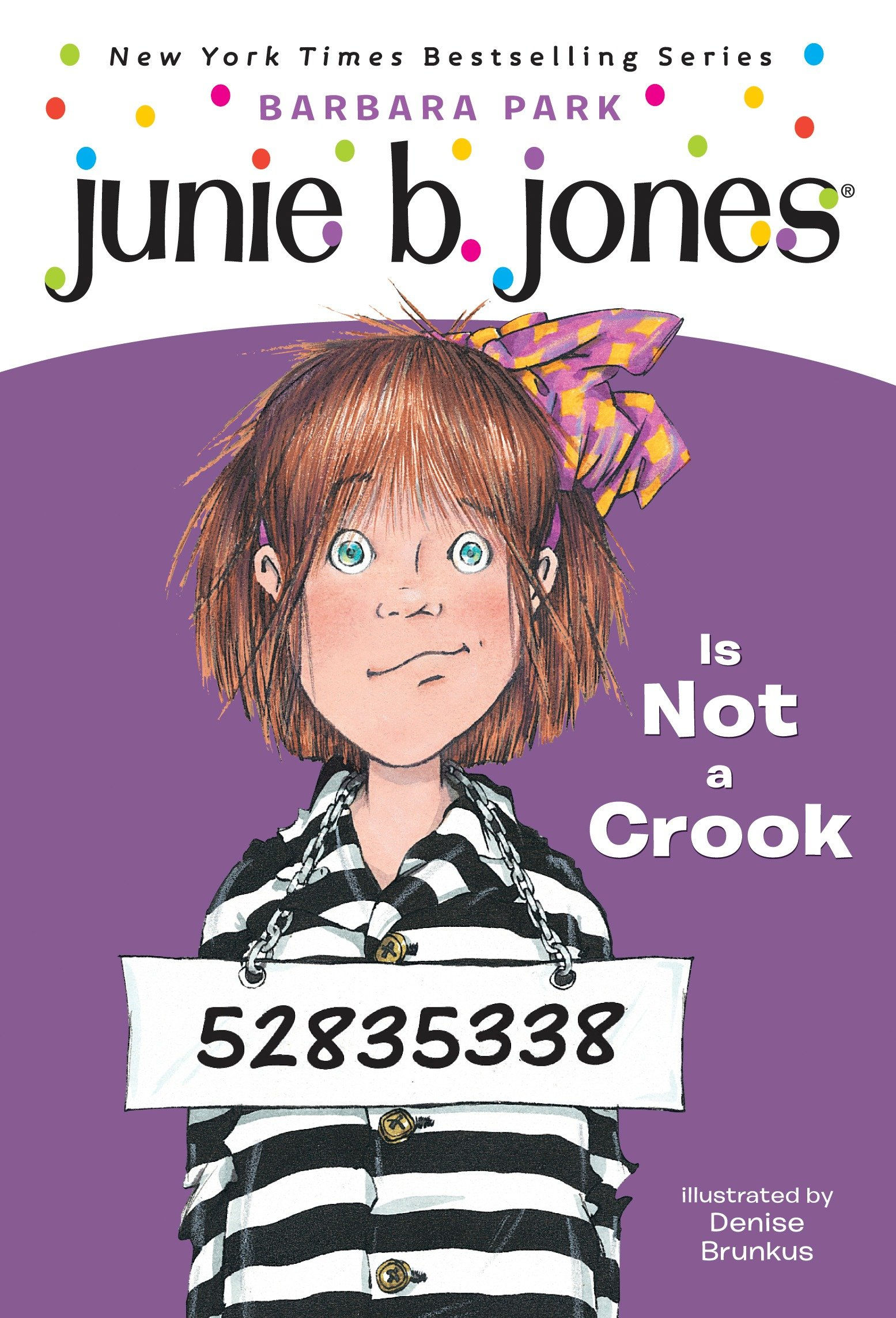 Junie B. Jones Is Not a Crook cover image