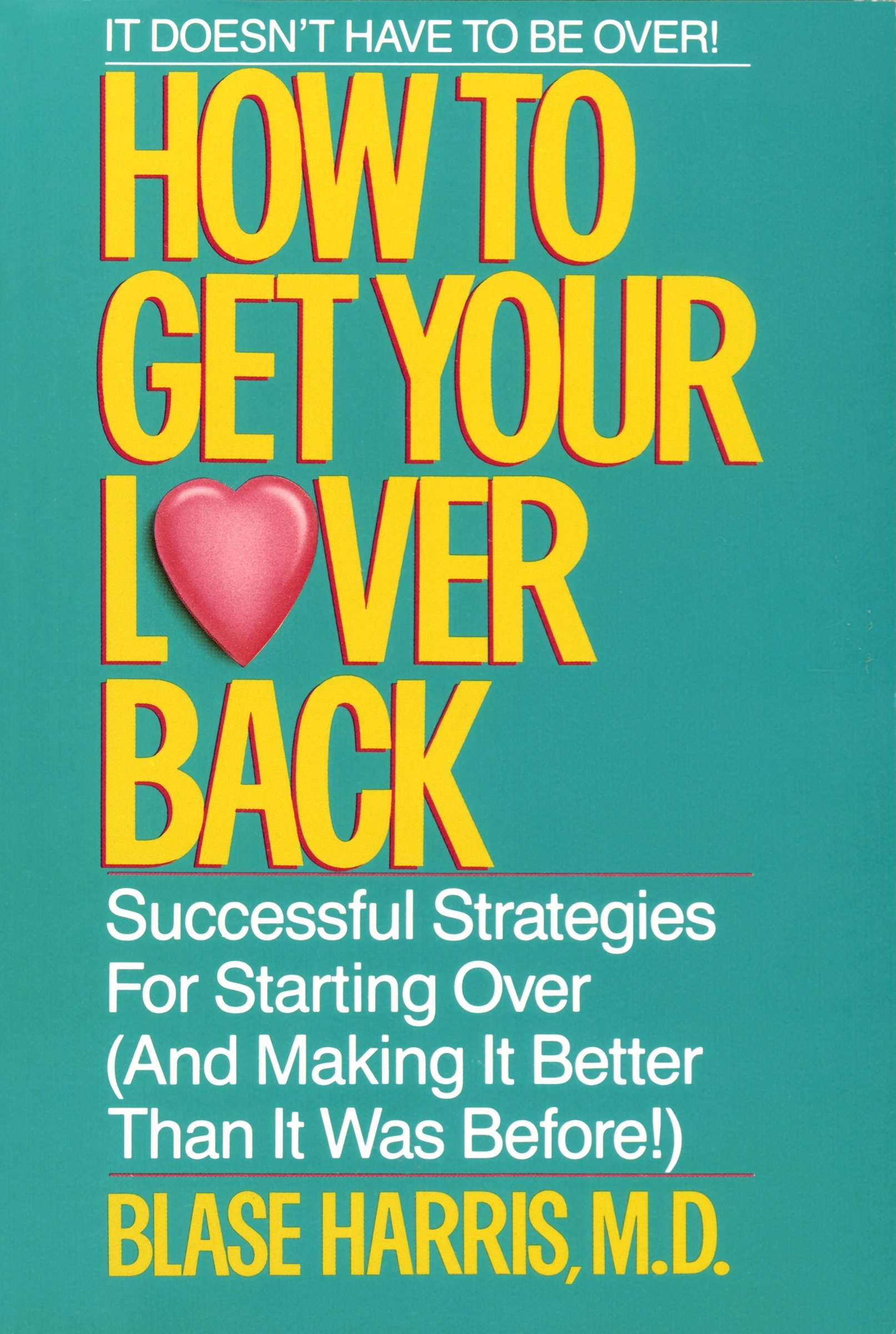 How to get your lover back cover image
