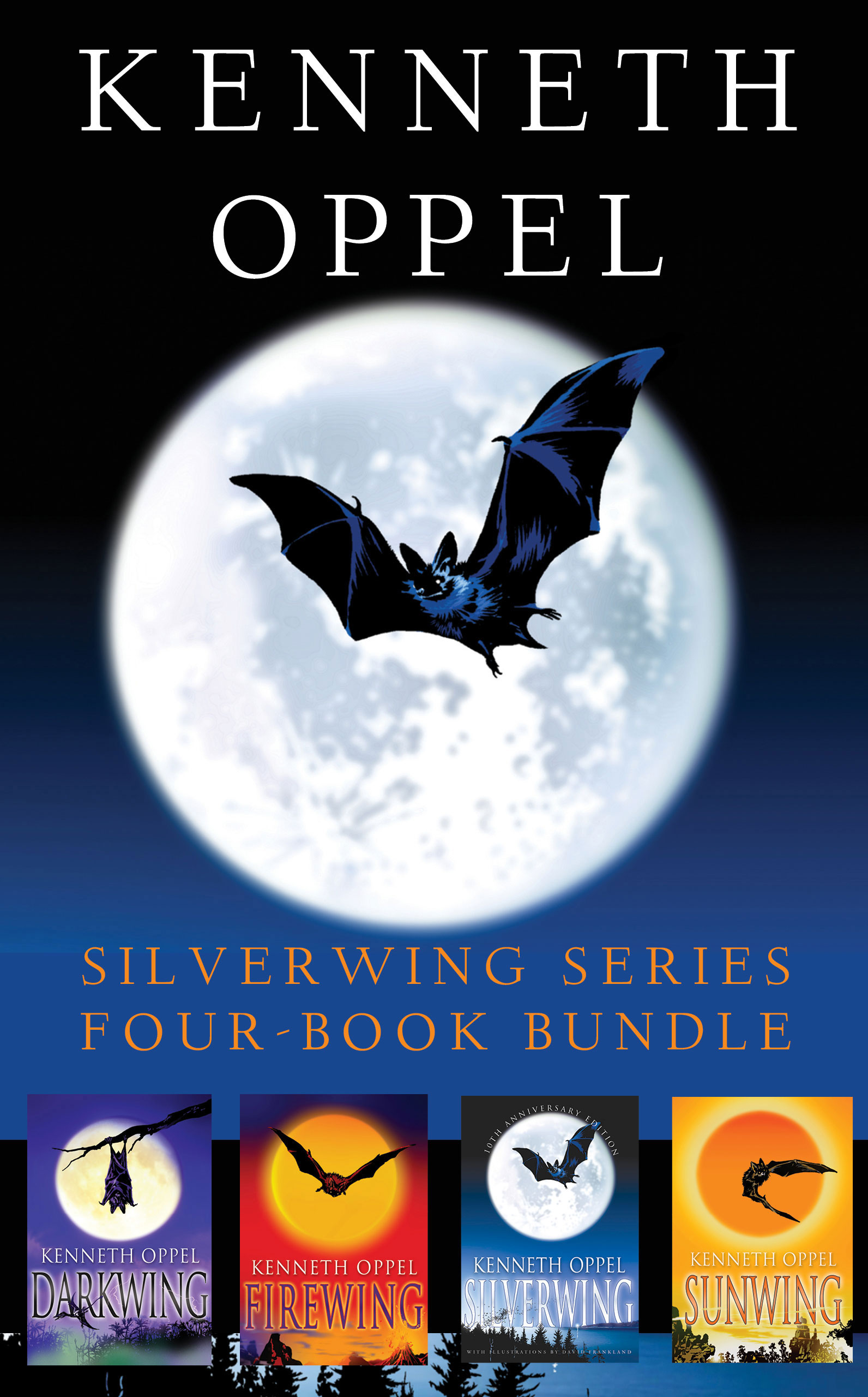 Cover Image of Kenneth Oppel Silverwing Series: Four-Book Bundle