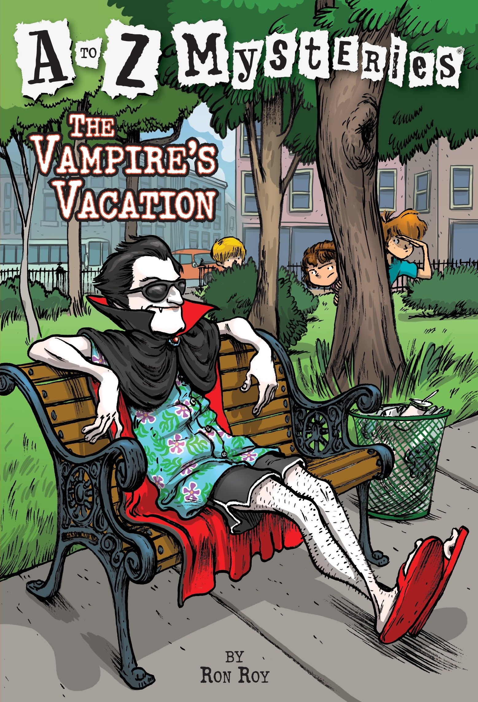 The Vampire's Vacation cover image