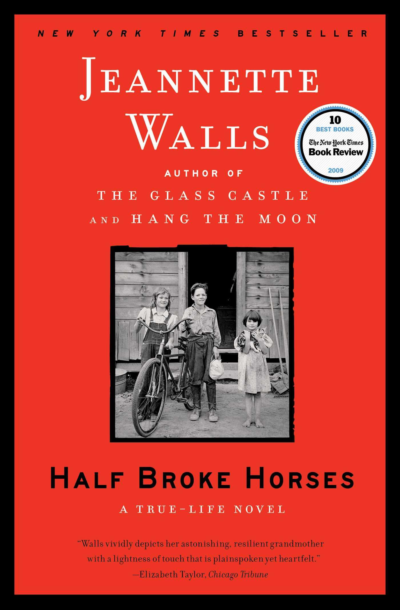 Cover Image of Half Broke Horses