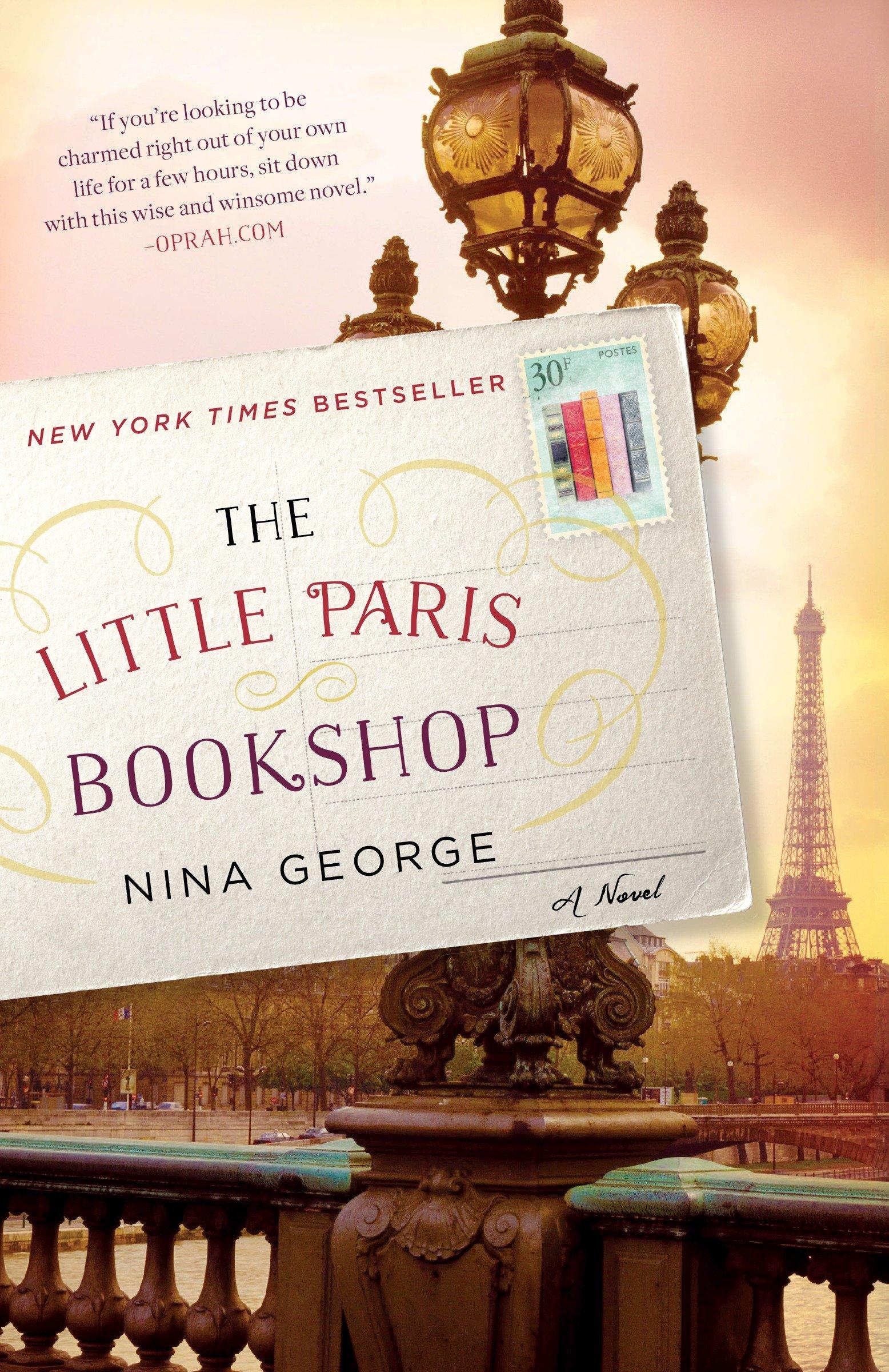 Cover Image of The Little Paris Bookshop