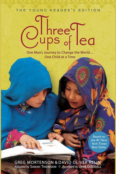 Cover Image of Three Cups of Tea (The Young Reader's Edition)