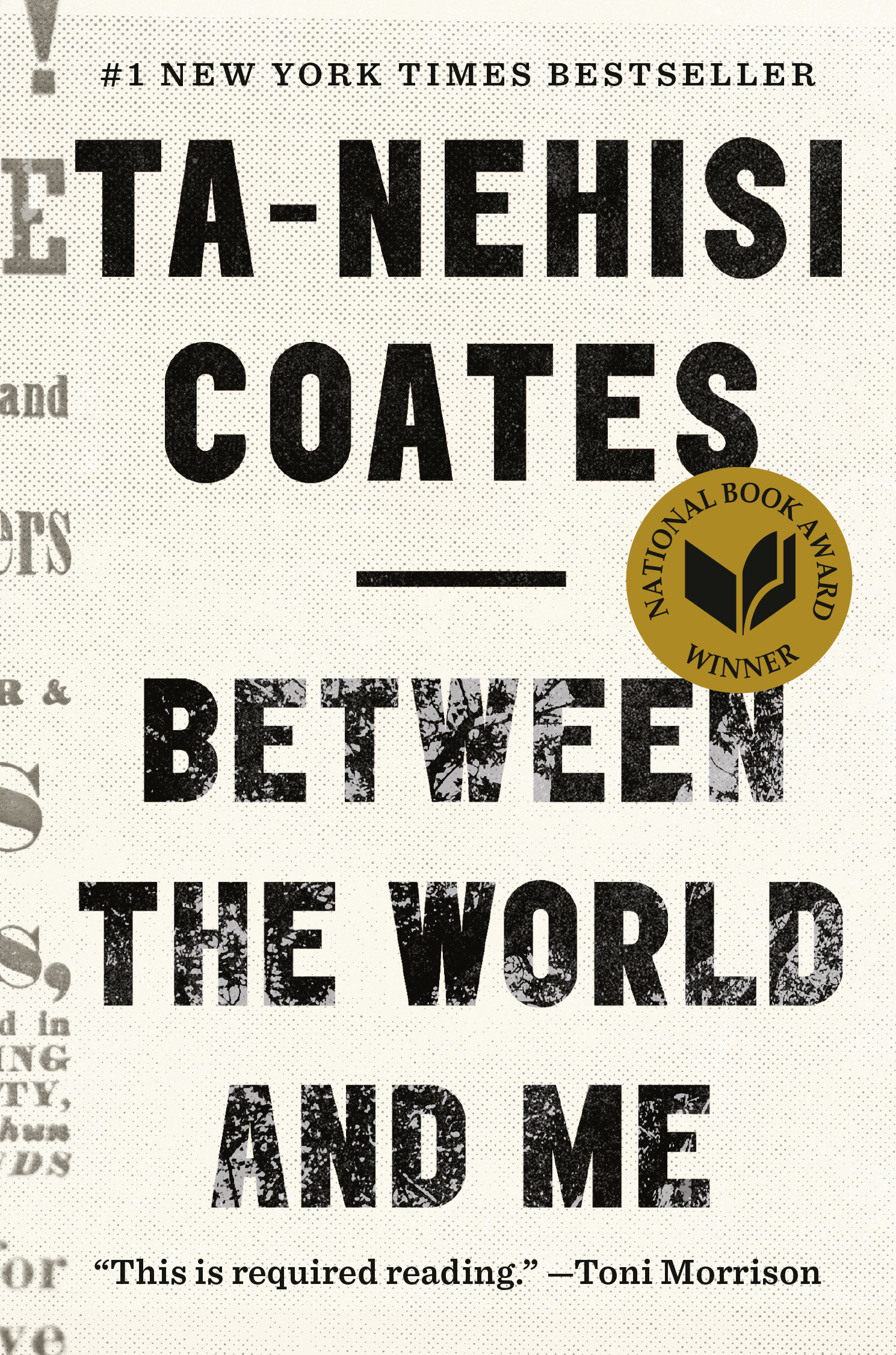 Cover image for Between the World and Me [electronic resource] :