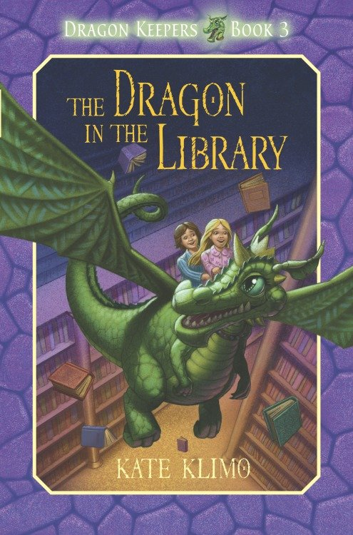 The Dragon in the library cover image