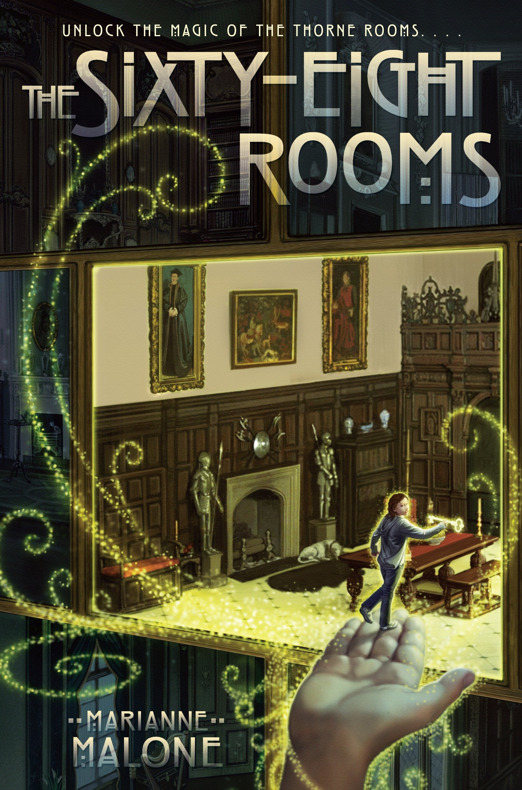 Cover image for The Sixty-Eight Rooms [electronic resource] :