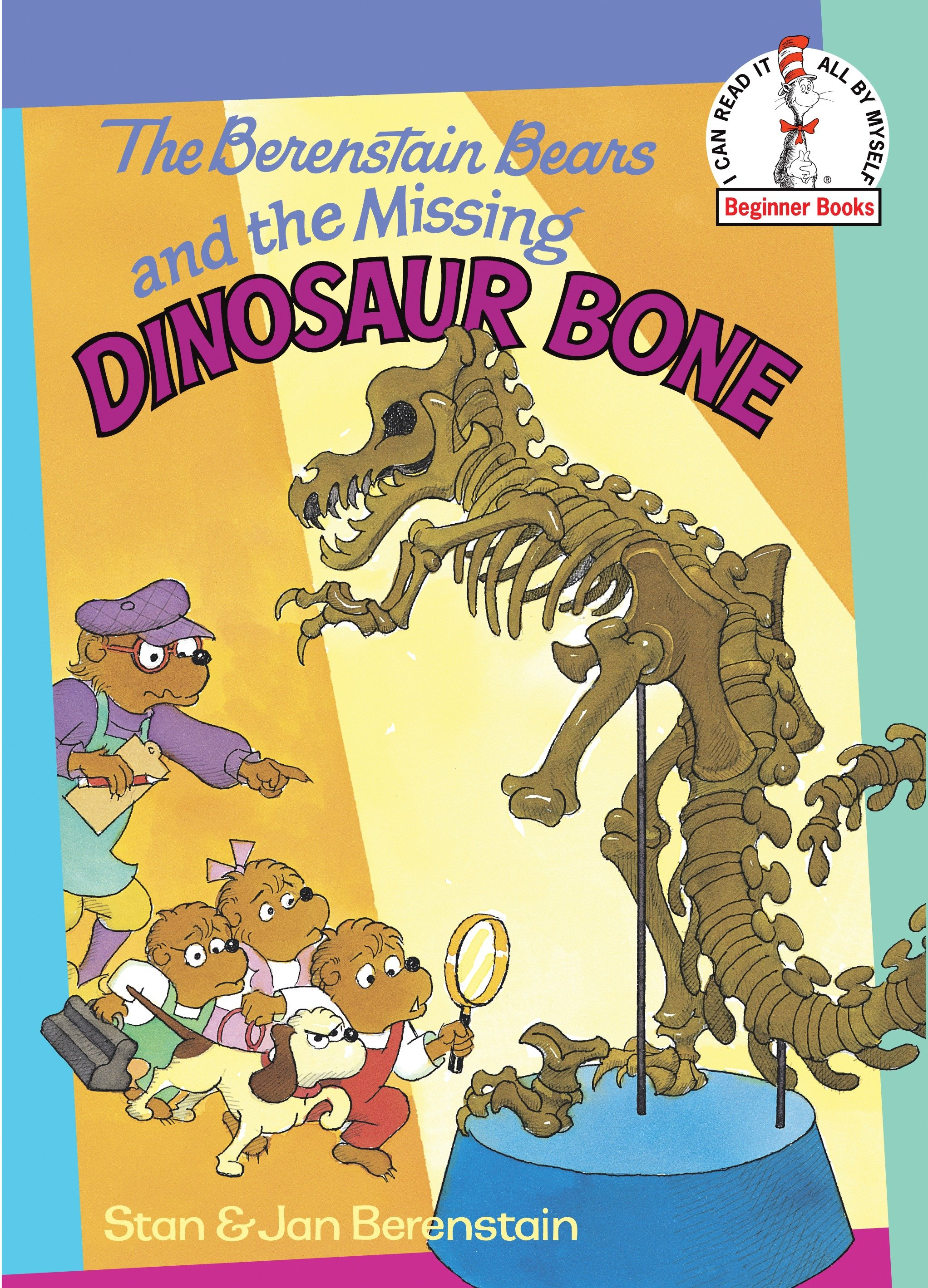 The Berenstain Bears and the missing dinosaur bone cover image