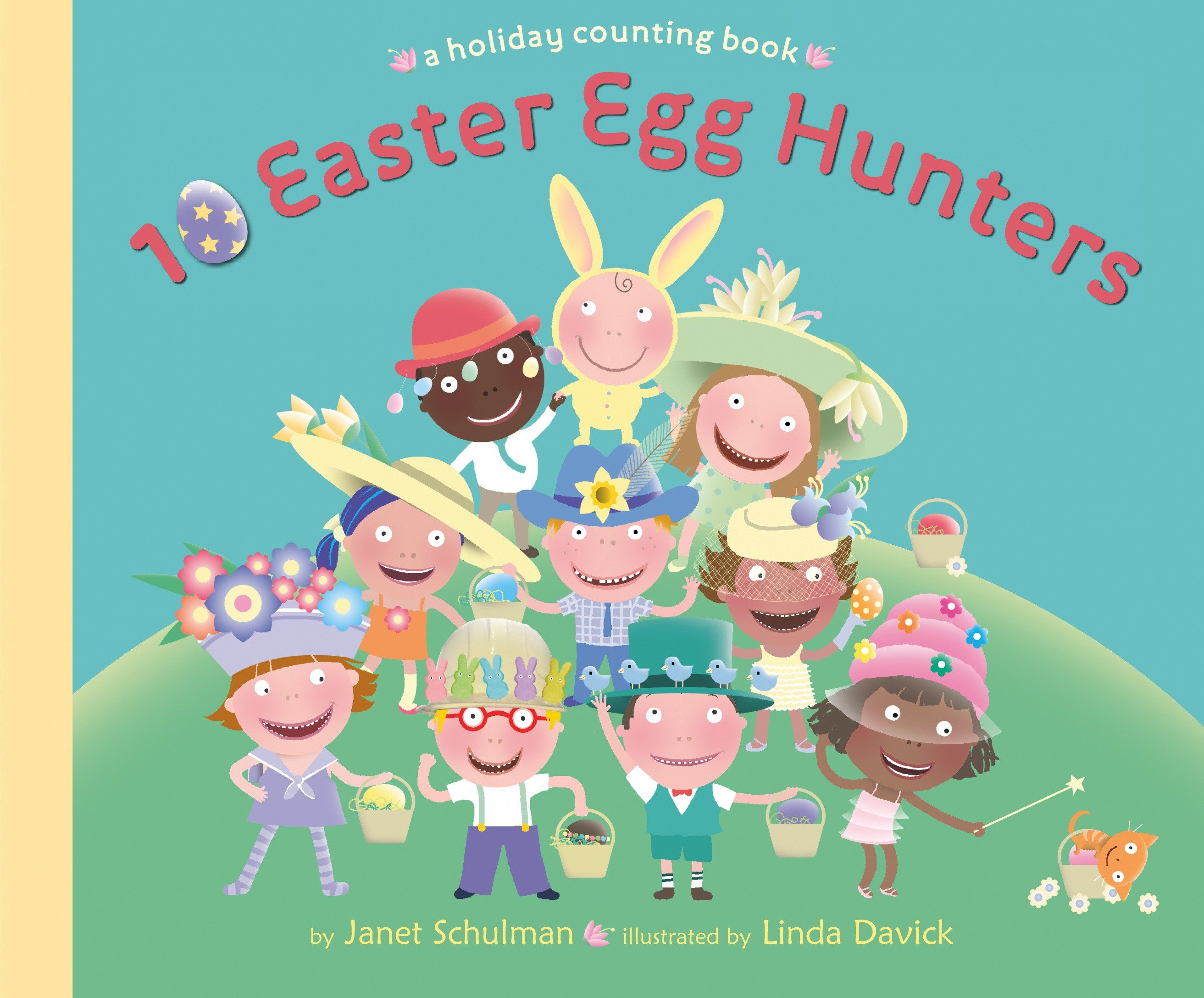 10 Easter egg hunters a holiday counting book cover image