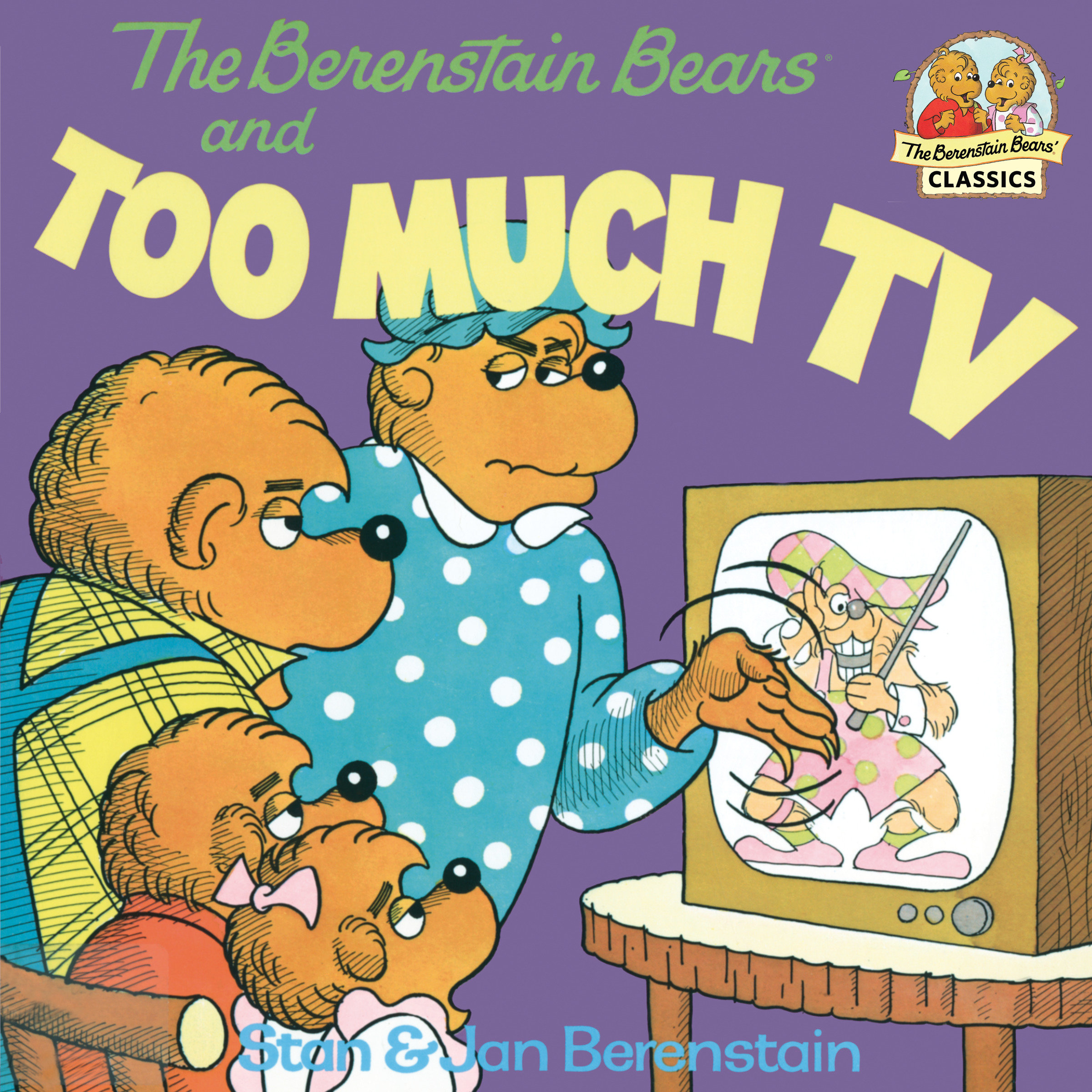 The Berenstain Bears and too much TV cover image