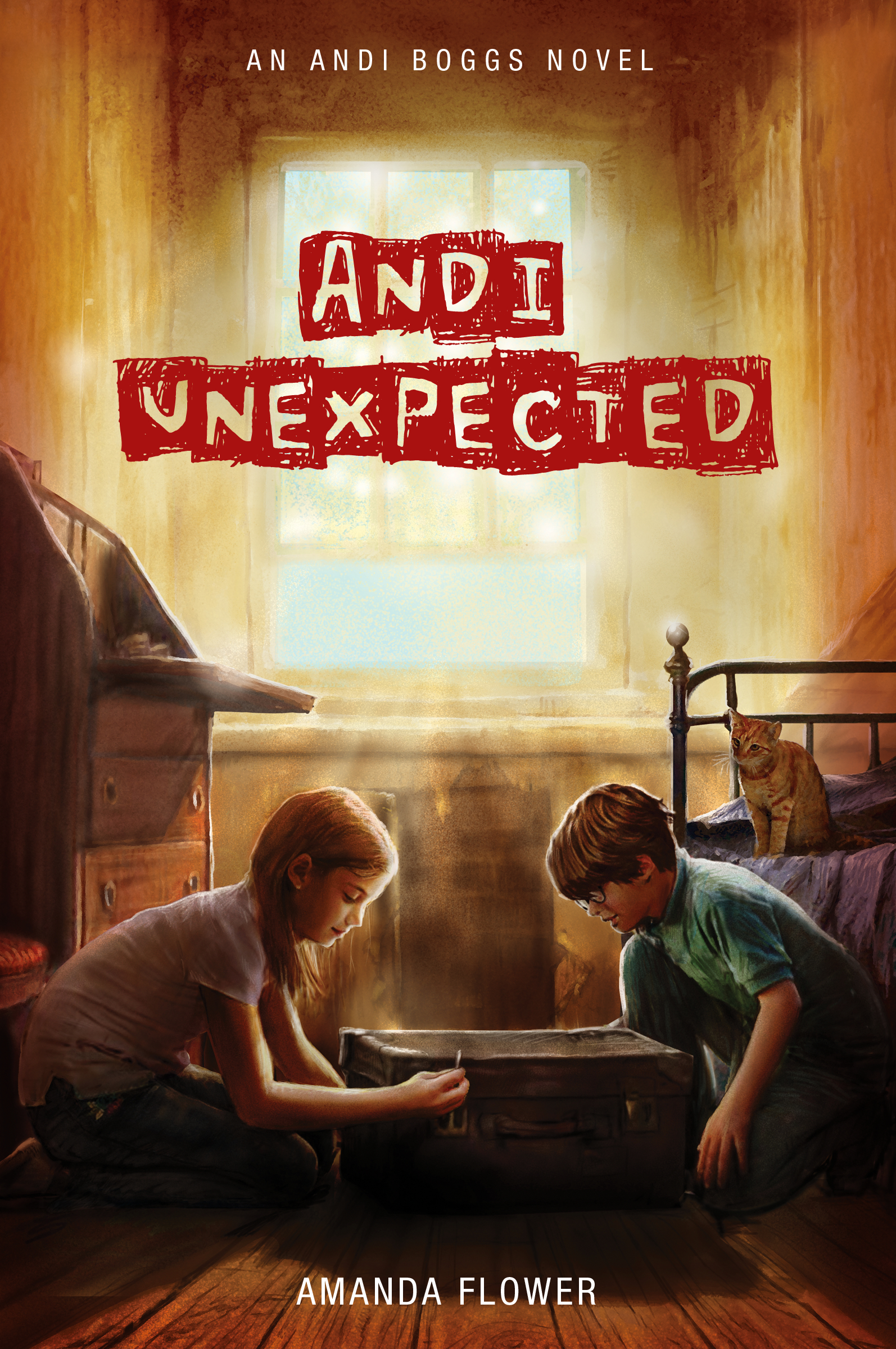Cover Image of Andi Unexpected