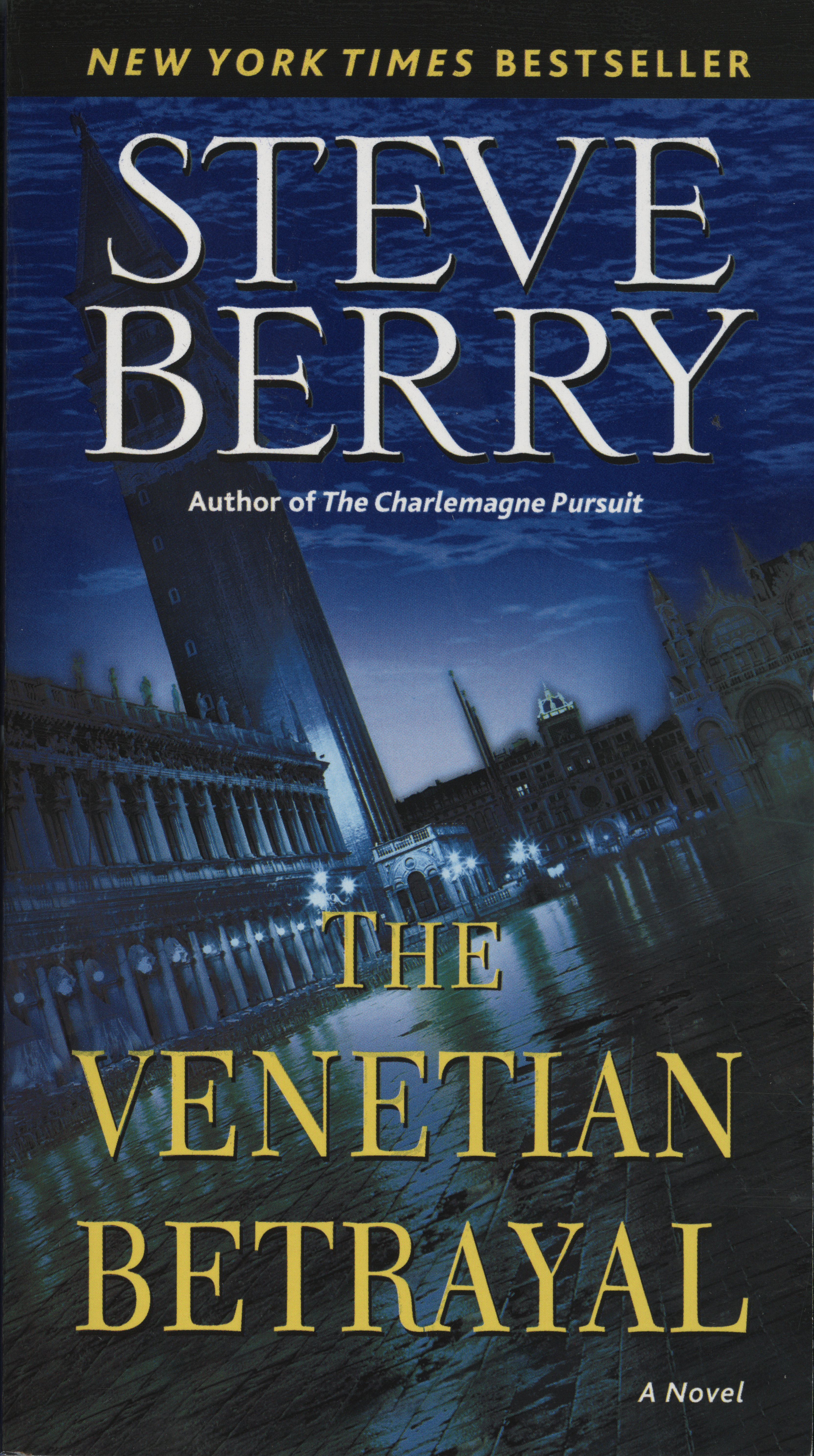 Cover image for The Venetian Betrayal [electronic resource] : A Novel