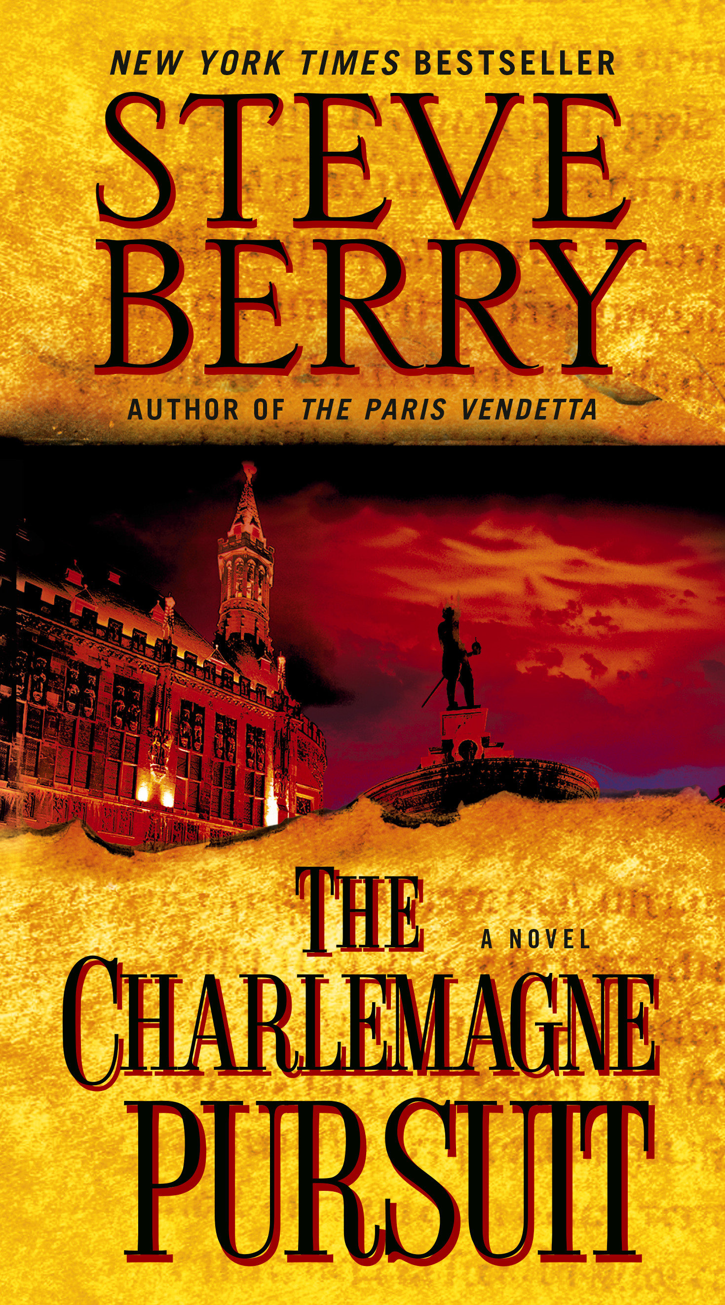 Cover image for The Charlemagne Pursuit [electronic resource] : A Novel