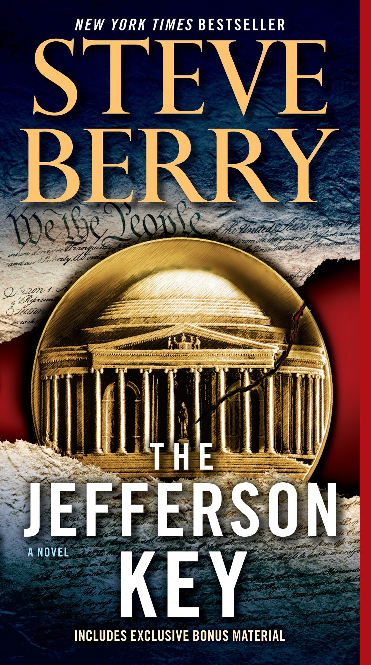 Cover image for The Jefferson Key (with bonus short story The Devil's Gold) [electronic resource] : A Novel