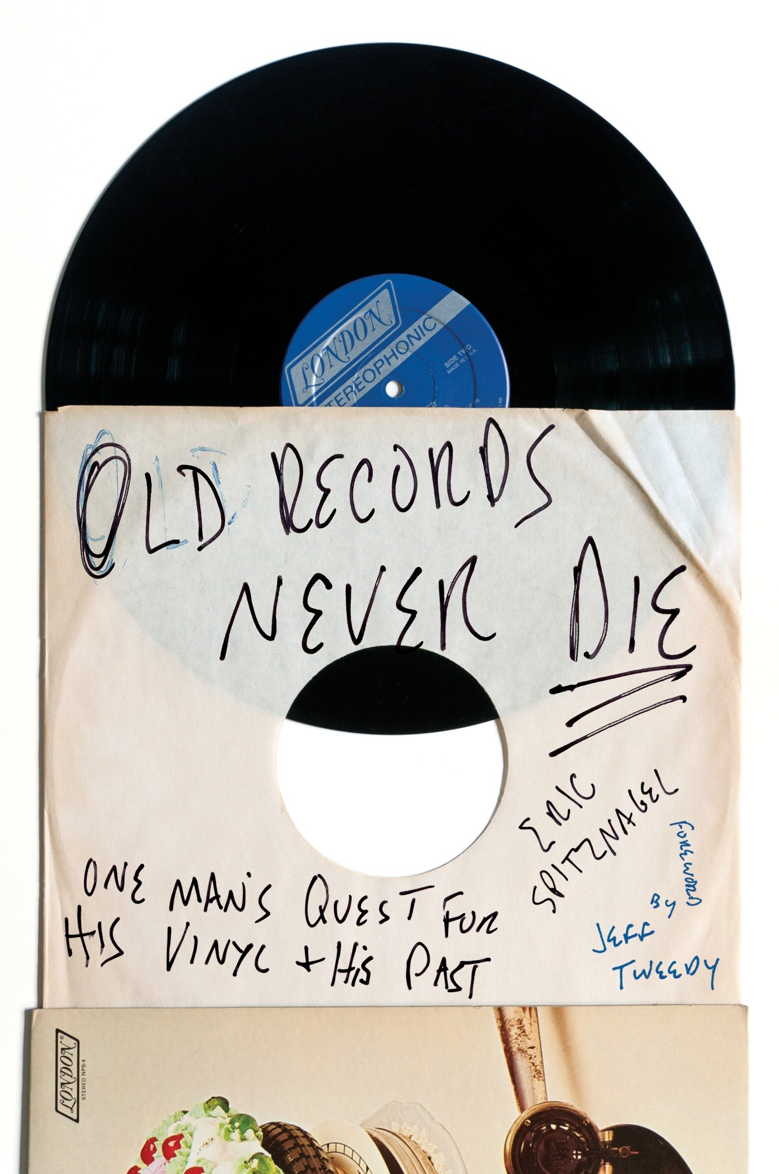 Old records never die one man's quest for his vinyl and his past cover image