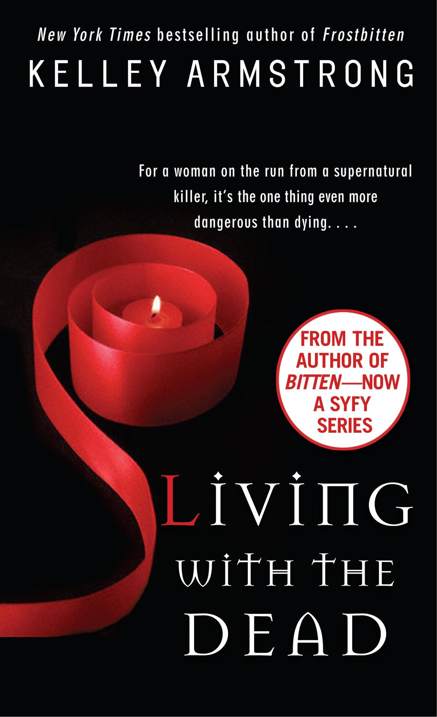 Living with the dead cover image