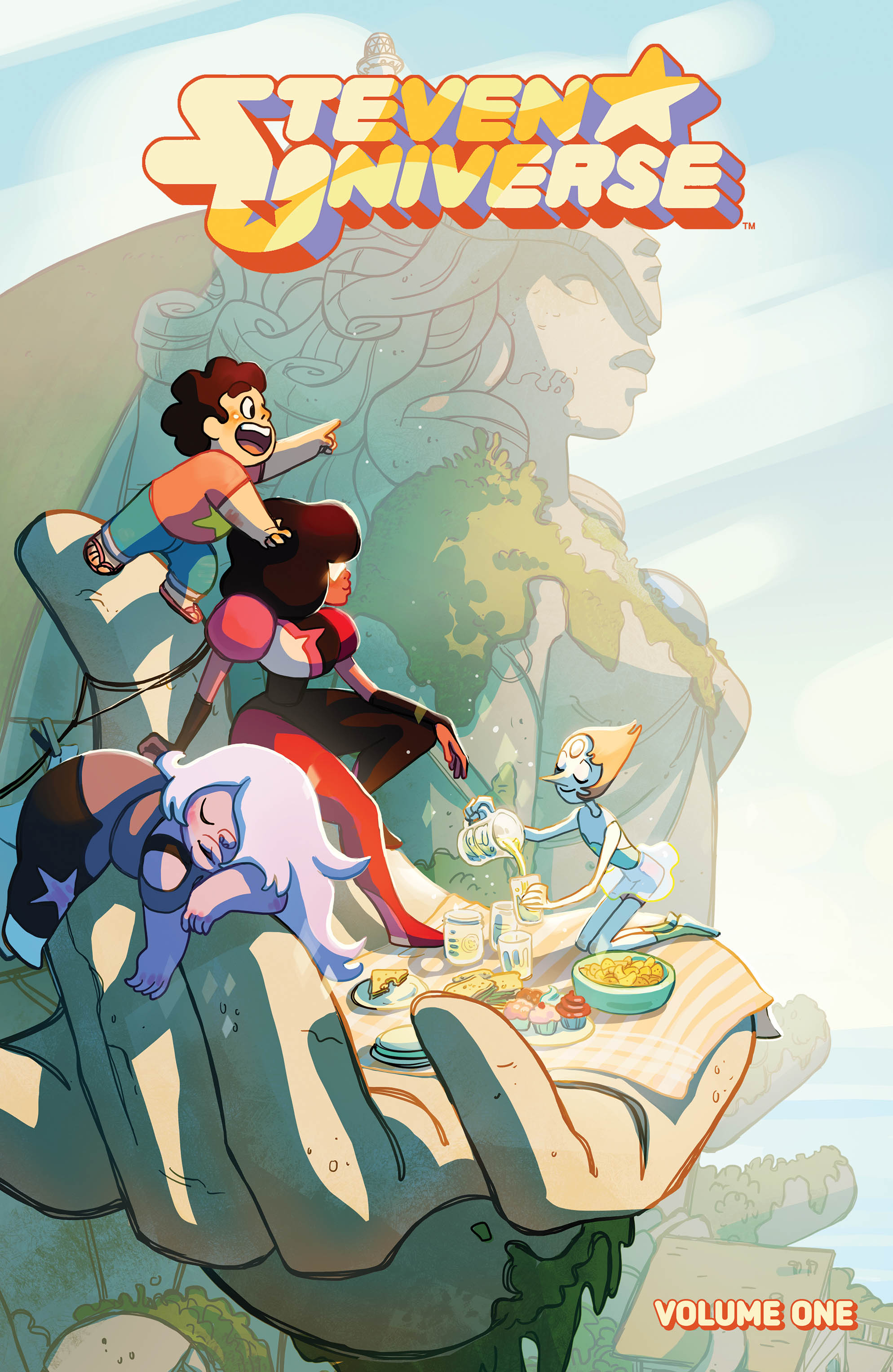 Cover Image of Steven Universe Vol. 1