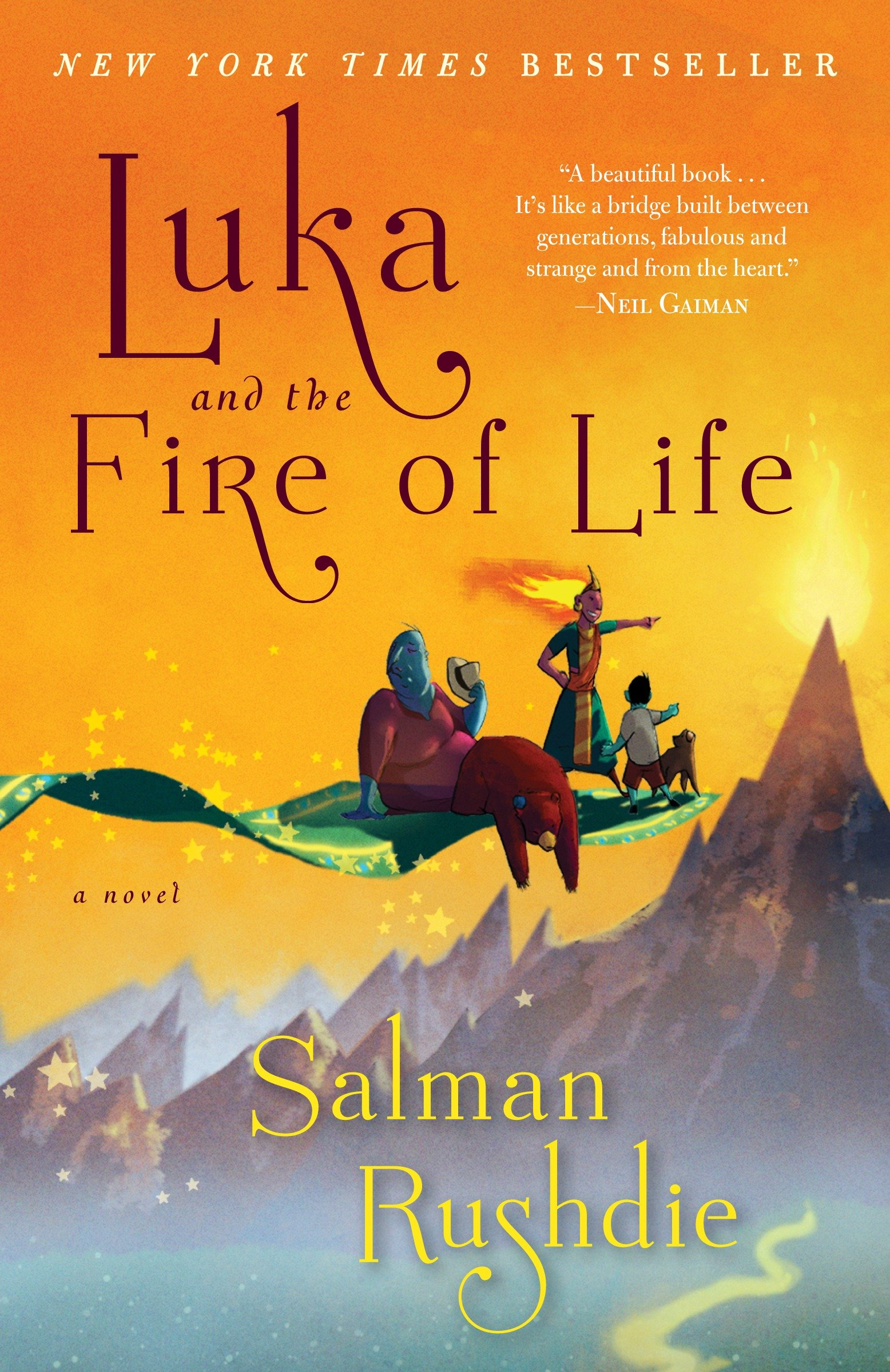 Luka and the fire of life cover image