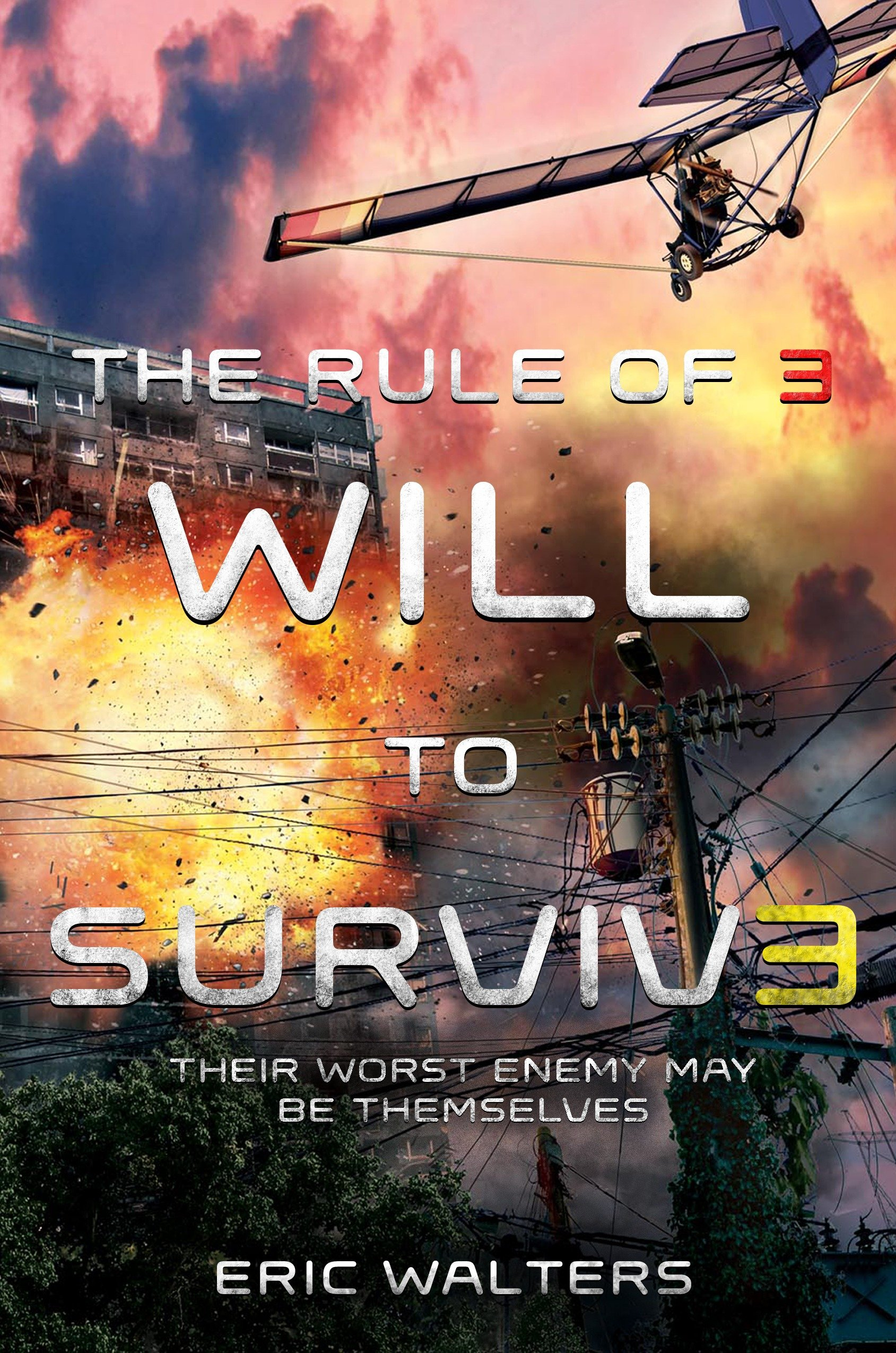 Cover Image of The Rule of Three: Will to Survive